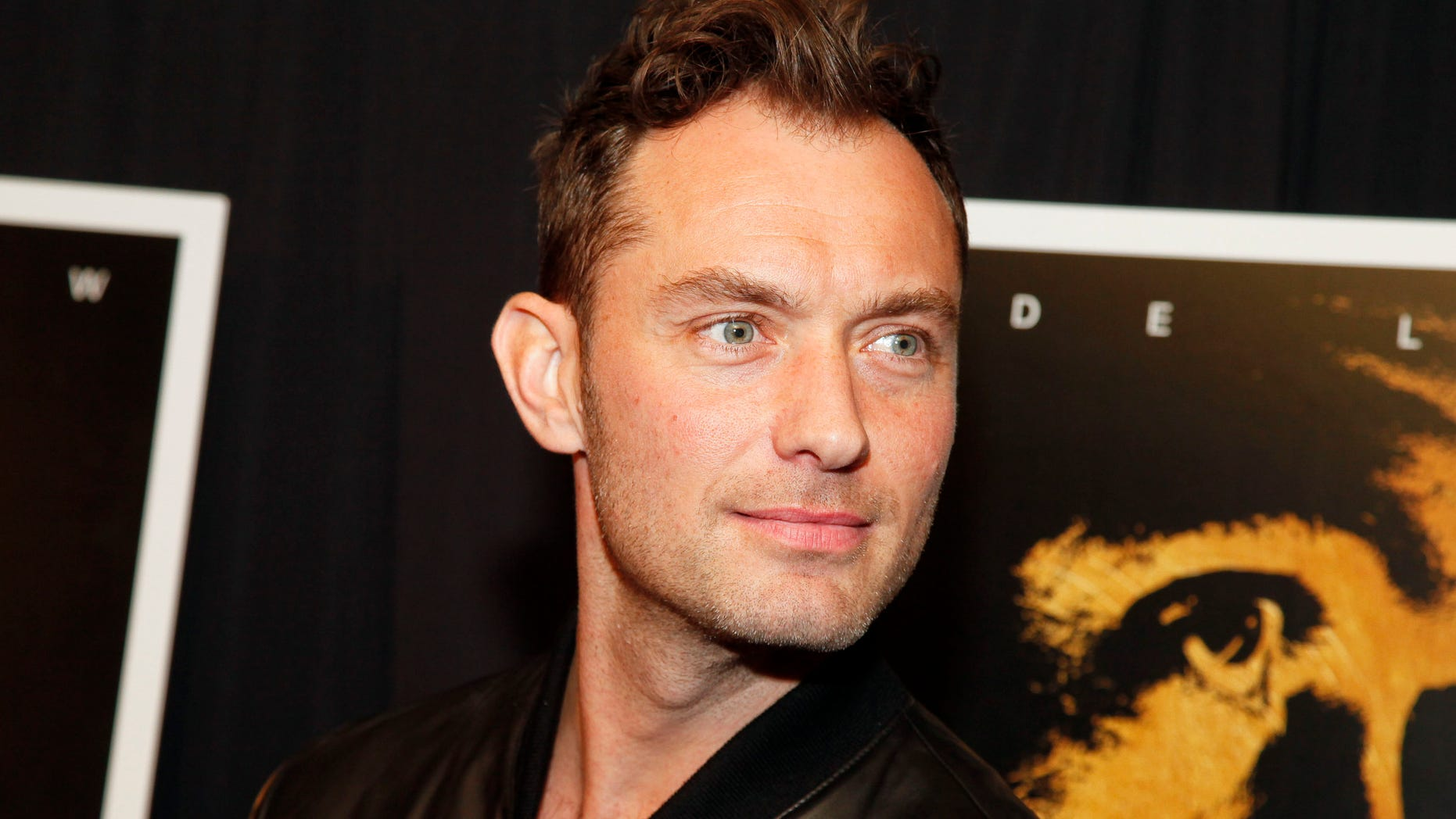 "Jude Law attends the premiere of ""Black Sea"" at the Landmark Sunshine Cinema on Wednesday, Jan. 21, 2015, in New York. (Photo by Andy Kropa/Invision/AP)"