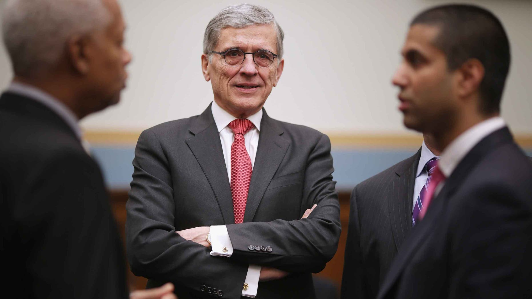 Federal Communications Commission Chairman Tom Wheeler in a 2015 file photo.