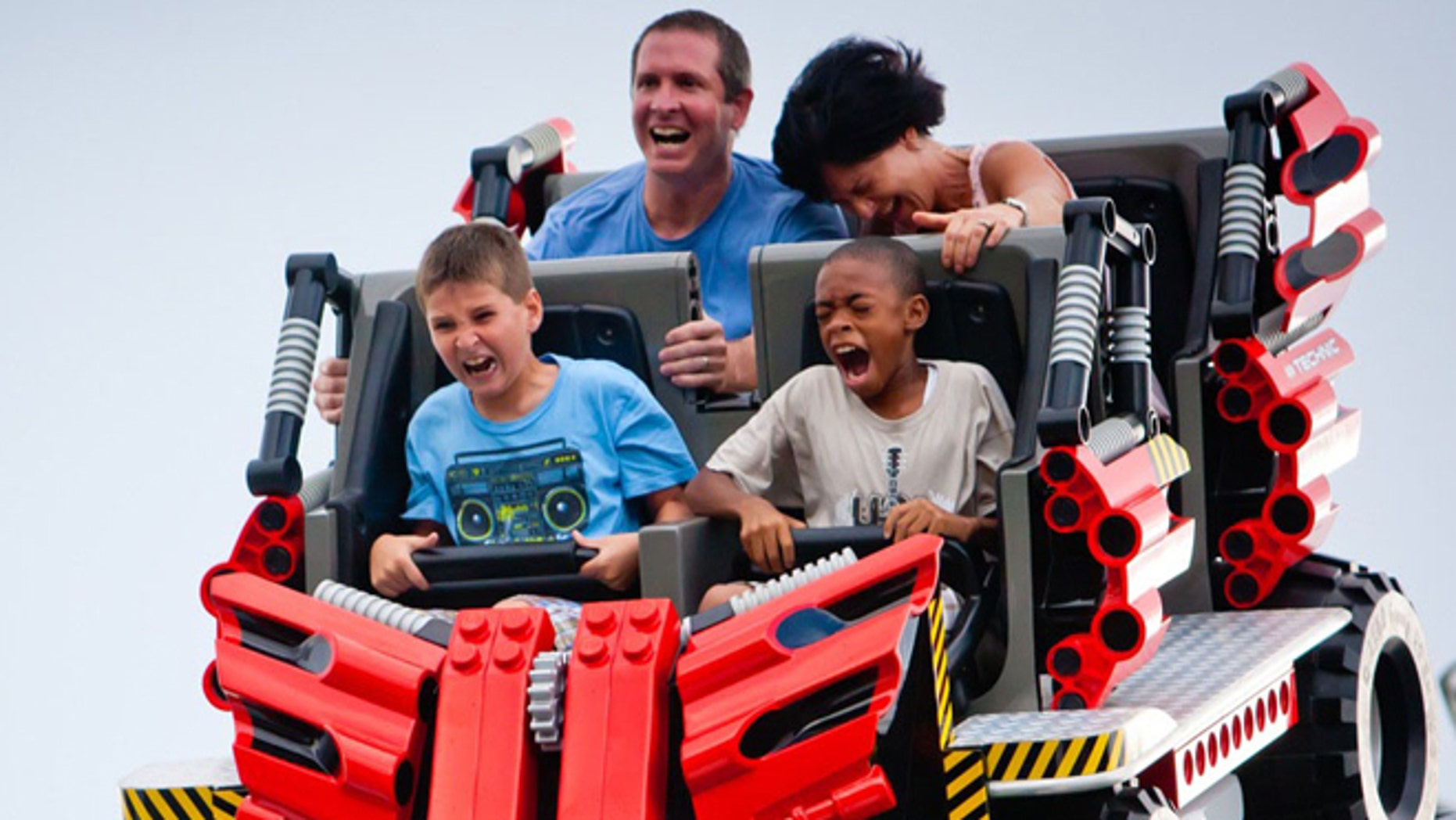 This new breed of roller coaster, like the Technic Coaster at LEGOLAND Florida, is super-fun, but super scary to some.