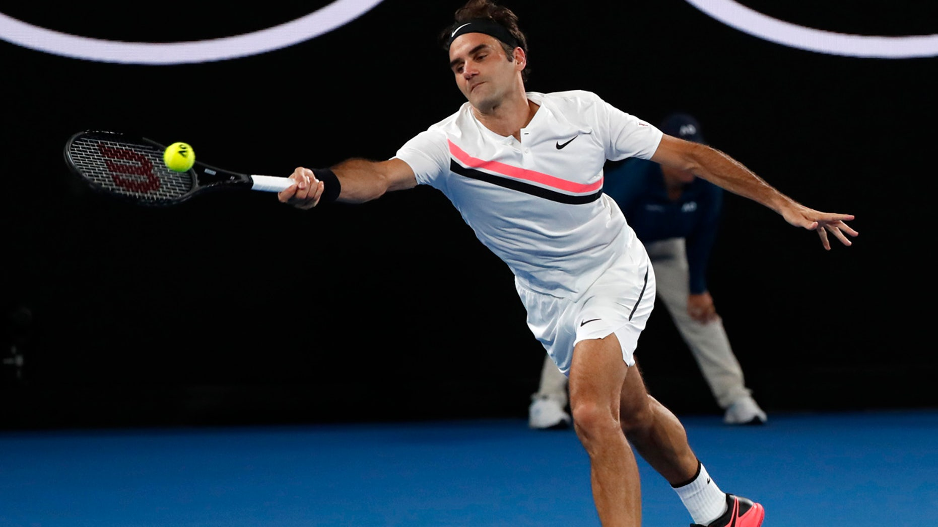 Switzerland's Roger Federer beat Marin Cilic to win the Australian Open title.