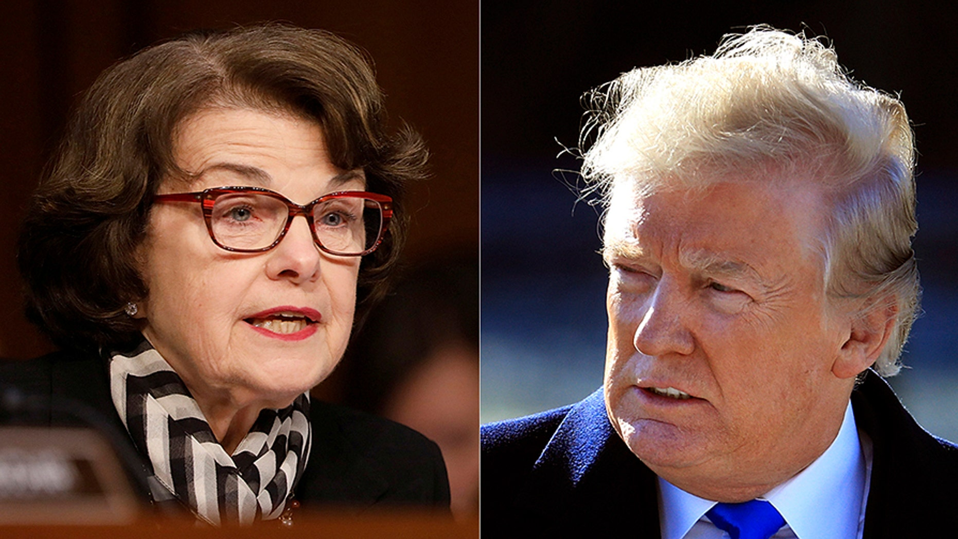 President Trump has a new nickname for Sen. Dianne Feinstein.