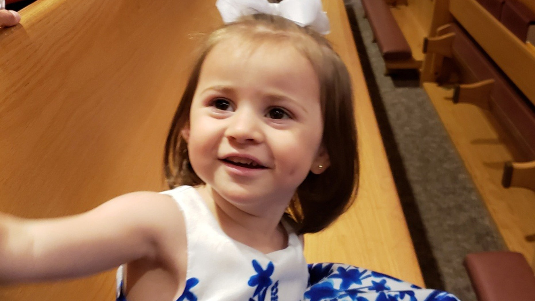 Felicity Karam, 2, died after being struck by an ice cream truck in Missouri.