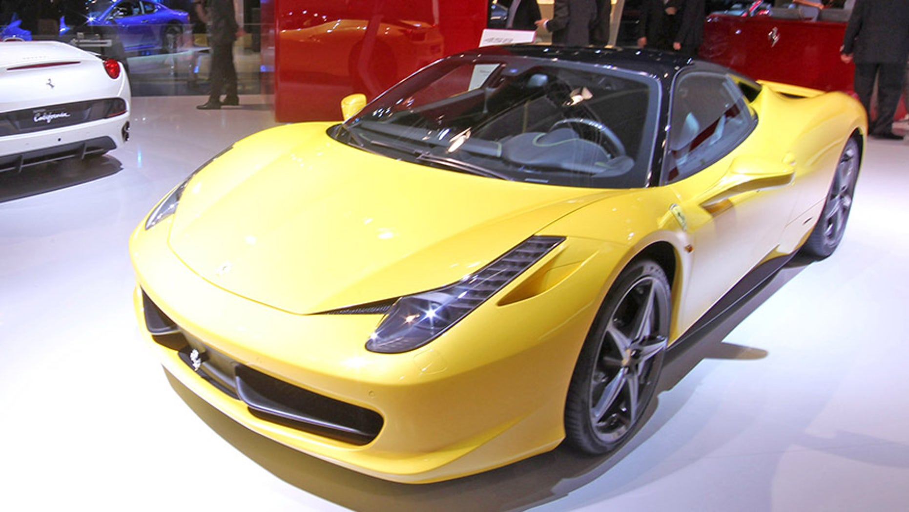 Ferrari 458 Italia Spider (File)