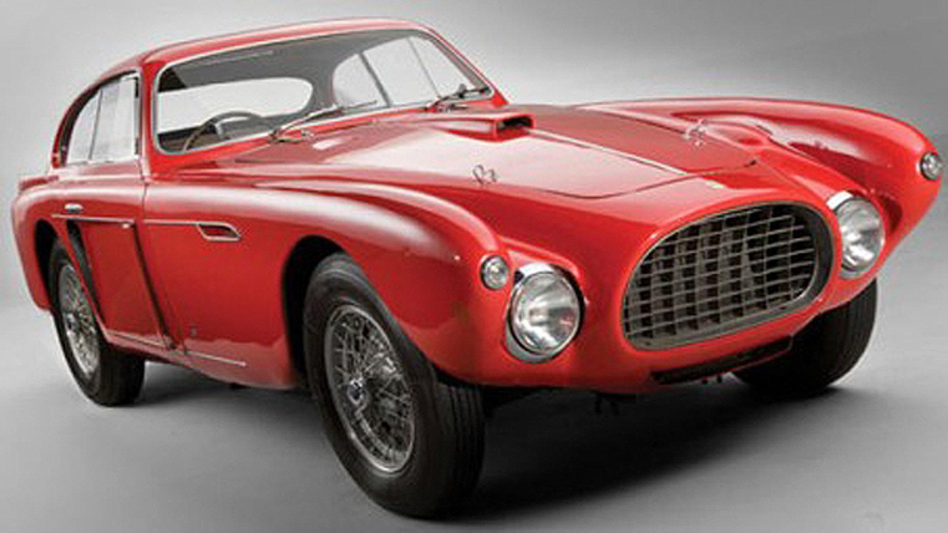 1952 Ferrari 340 Mexico Vignale Coupe