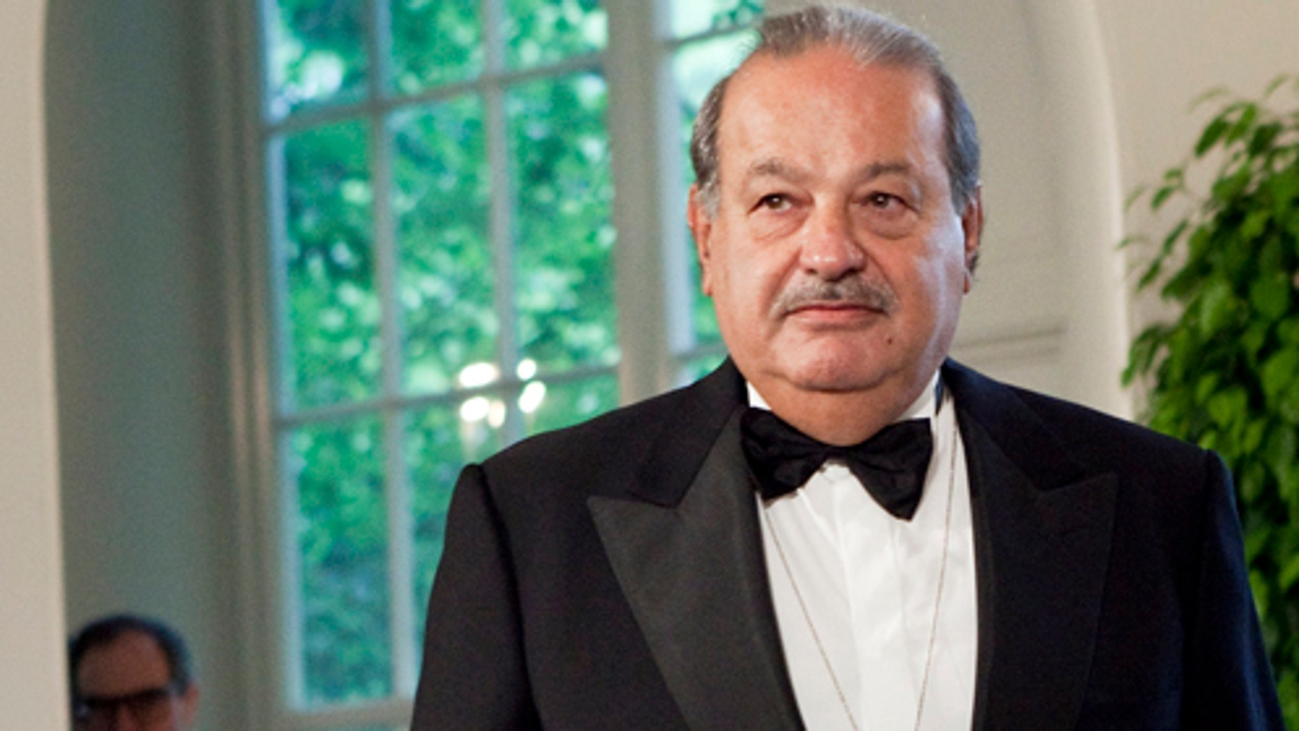Carlos Slim at the White House for a state dinner May 19, 2010 in  Washington, DC.