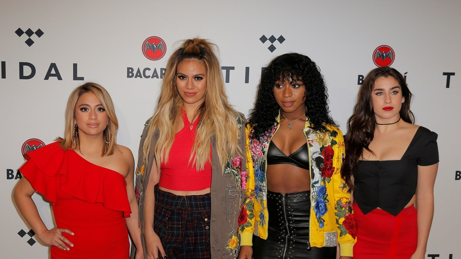 Fifth Harmony arrive for the TIDAL X benefit concert in New York October 17, 2017. REUTERS/Lucas Jackson - RC17DE9A3F00