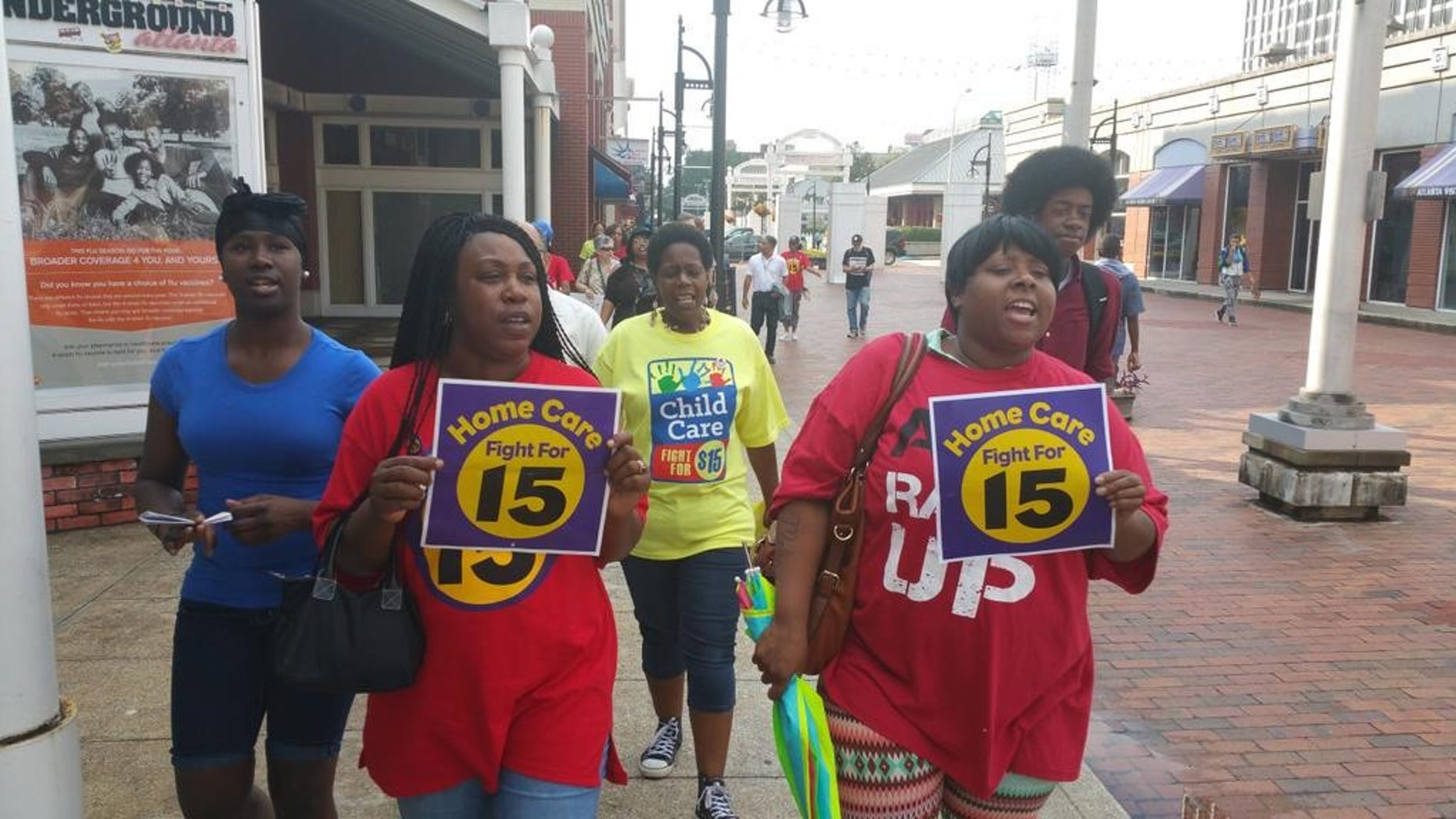 Workers in New York declared victory this summer, when Gov. Andrew Cuomo announced a plan to raise the state minimum wage to $15. (Fight for15.org)