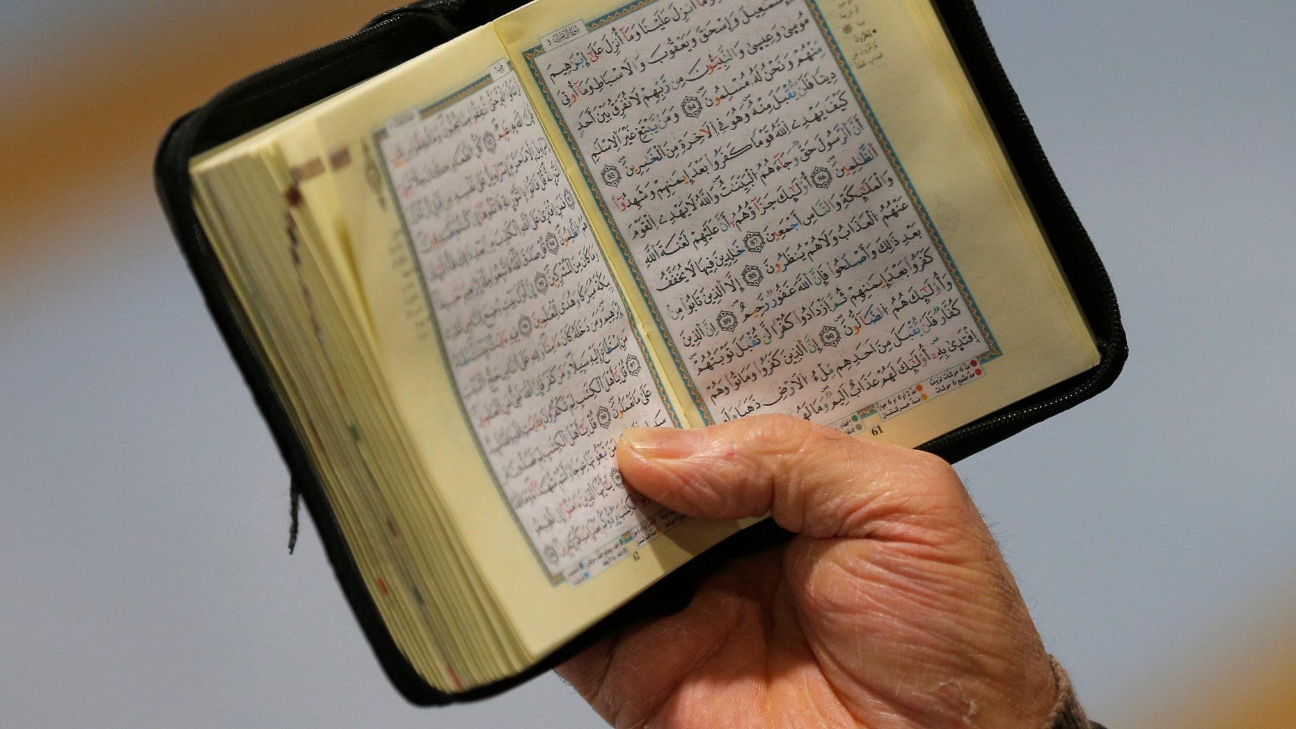 Jan. 8, 2016: File photo of the Koran. (REUTERS)