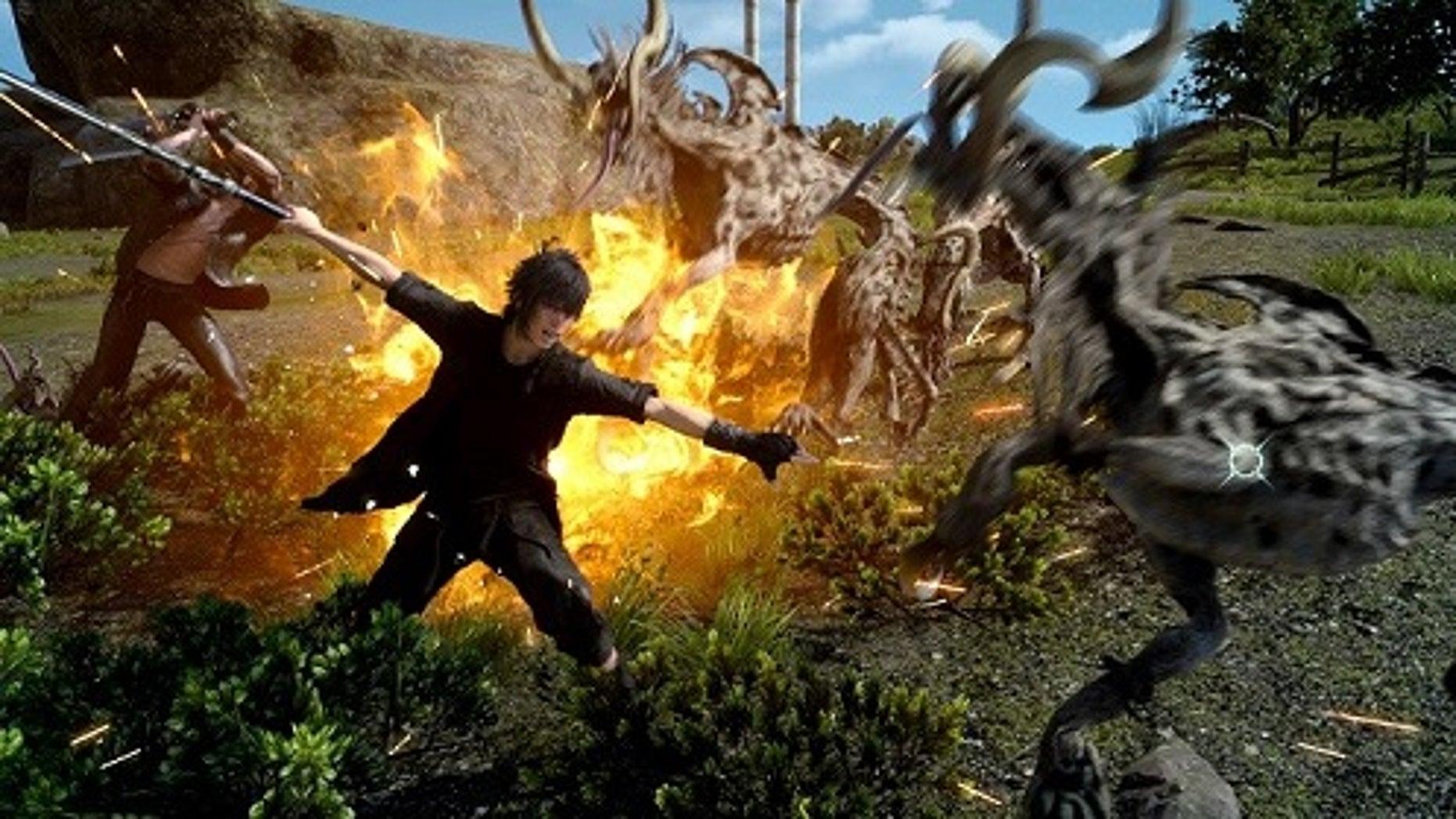 """Final Fantasy XV"" screenshot (Square Enix)."