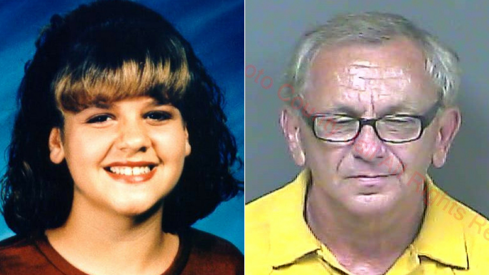 Finis Ewin Hill, 66, right, was named a suspect in the disappearance of Cayce McDaniel, left.
