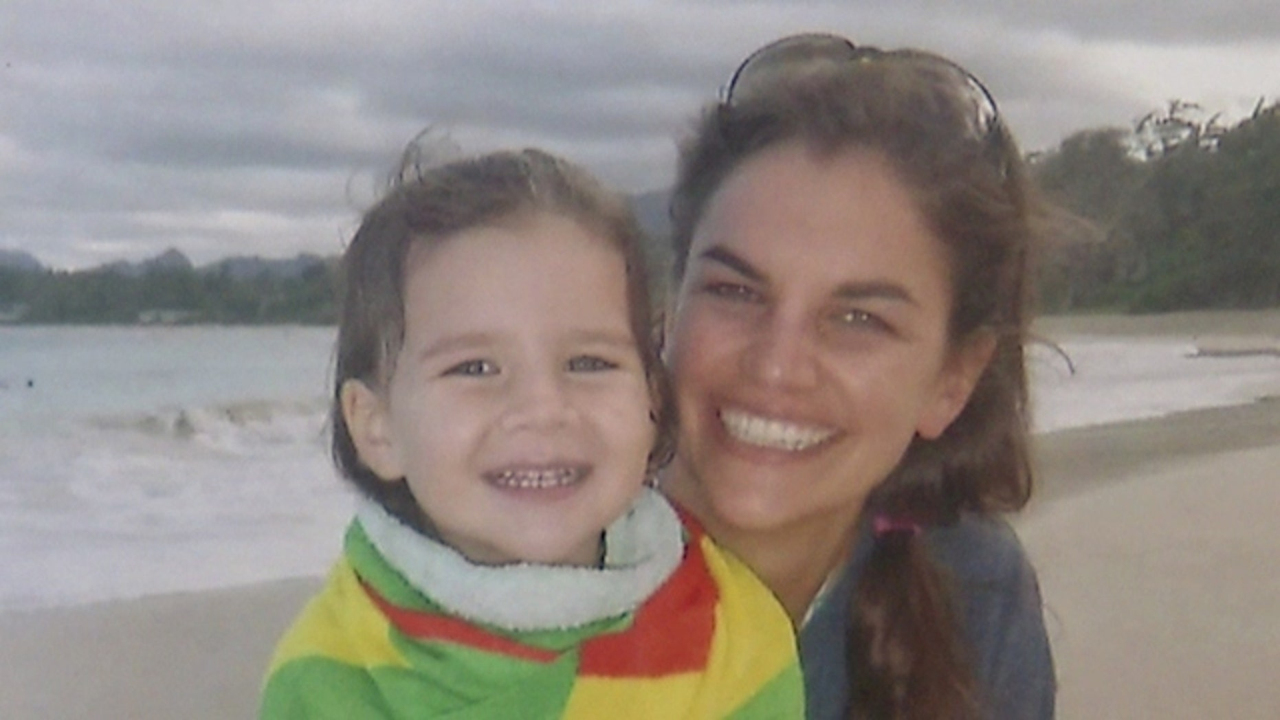 This undated photo shows Finley Boyle (left) with her mother Ashely. (Courtesy KHON.com via family)