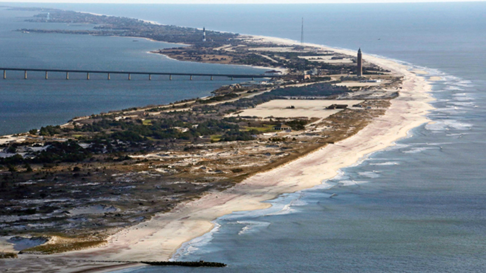 FILE 2013: Robert Moses State Park on Fire island, N.Y., after Superstorm Sandy struck.