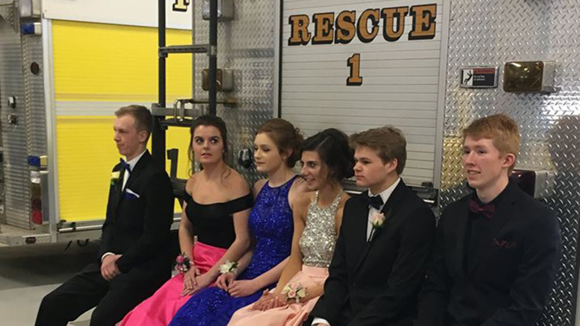 """""""My initial thought was: Who's going to want to take a prom picture next to a fire truck? I was wrong,"""" the fire chief recalled."""
