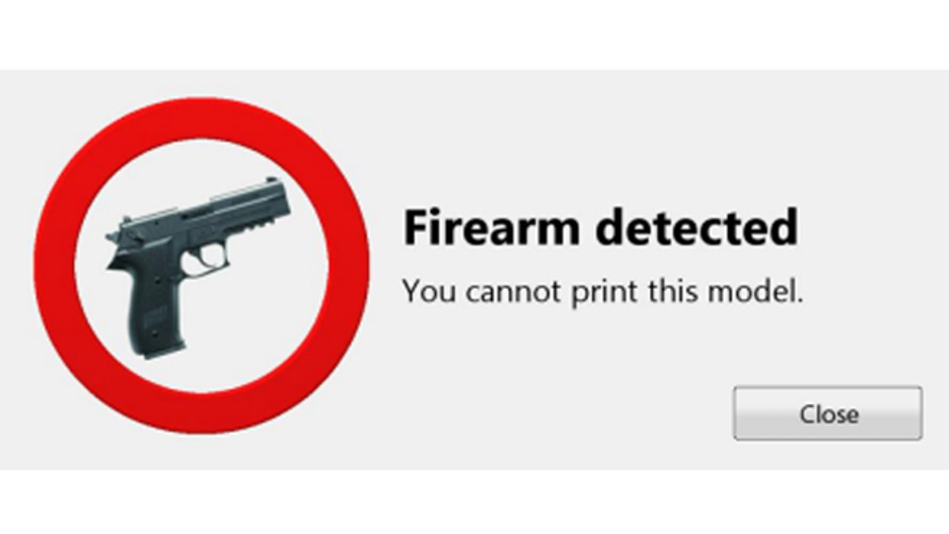A Danish company claims they have created an algorithm to prevent people from using 3D prints to make guns.