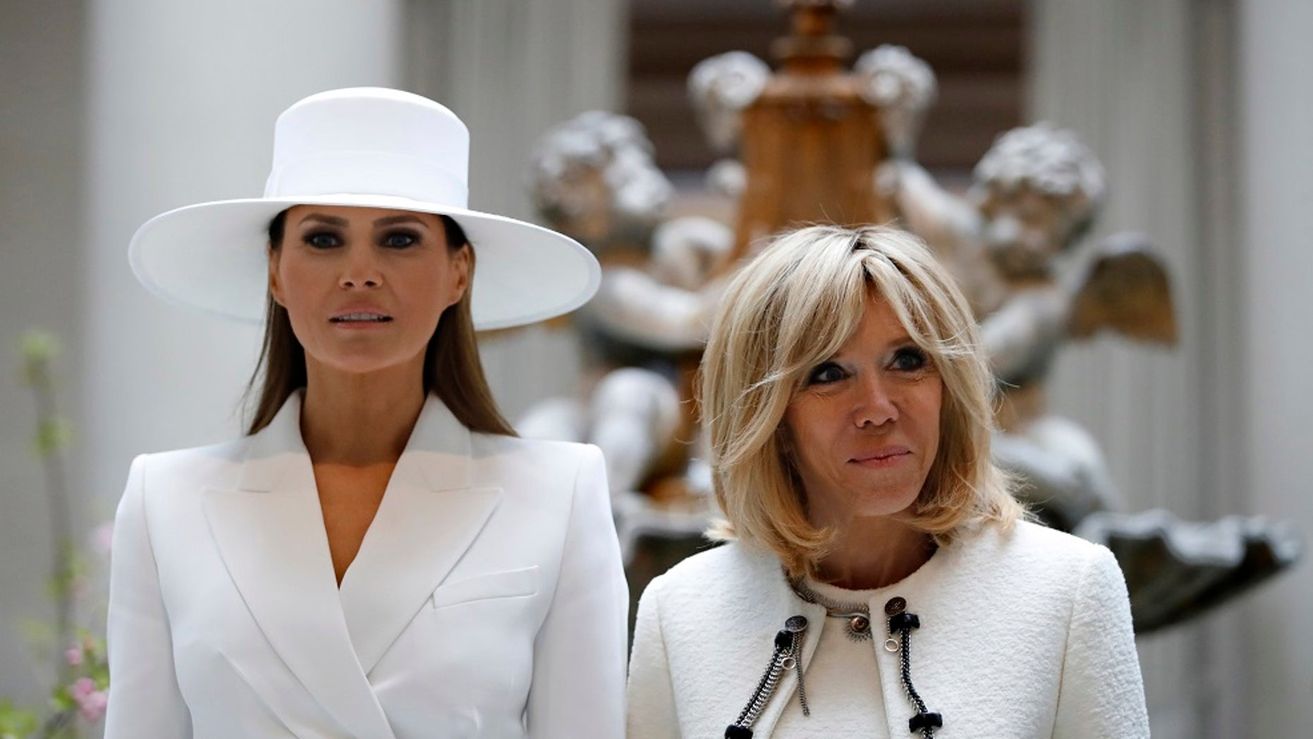 Brigitte Macron feels first lady Melania Trump is constrained in the White House.