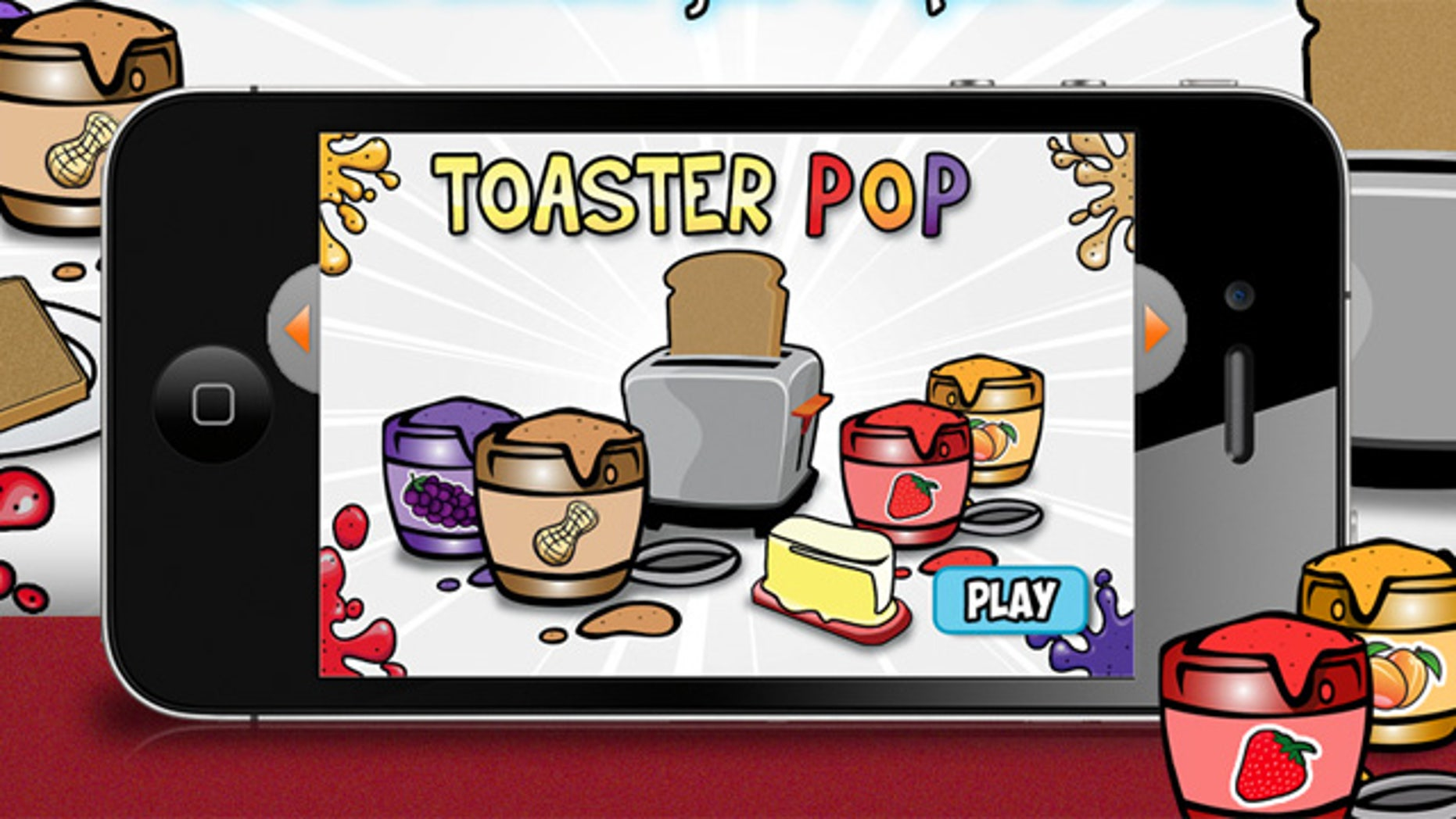 The work of 7-year-old Connor Zamary, Toaster Pop is a 99-cent iPhone game available in the Apple App Store.