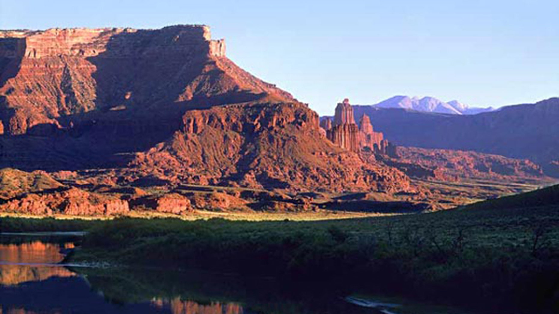 Shown here is a section of the Colorado River in Utah.