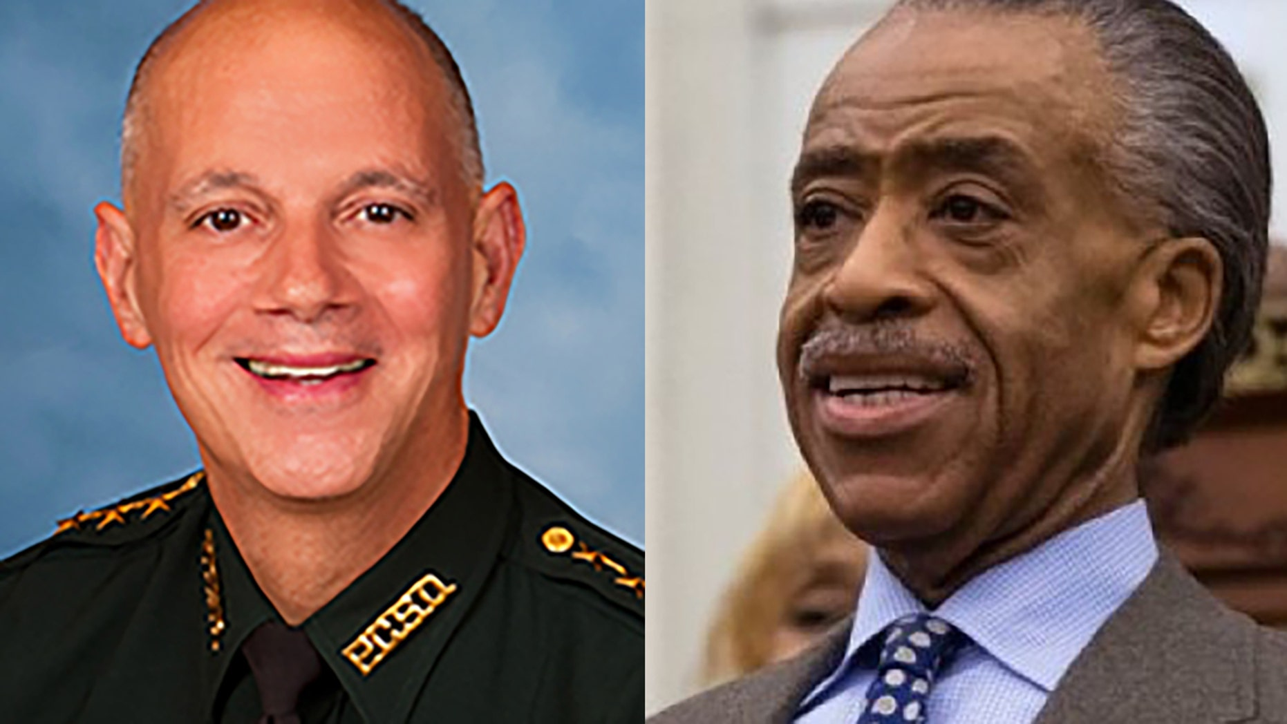 Pinellas County Sheriff Bob Gualtieri had some words for the Rev. Al Sharpton.