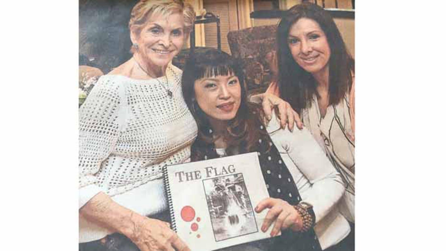 Tess McCormack, Ayaka Sano and Kelly Cowin. (Tess McCormack)