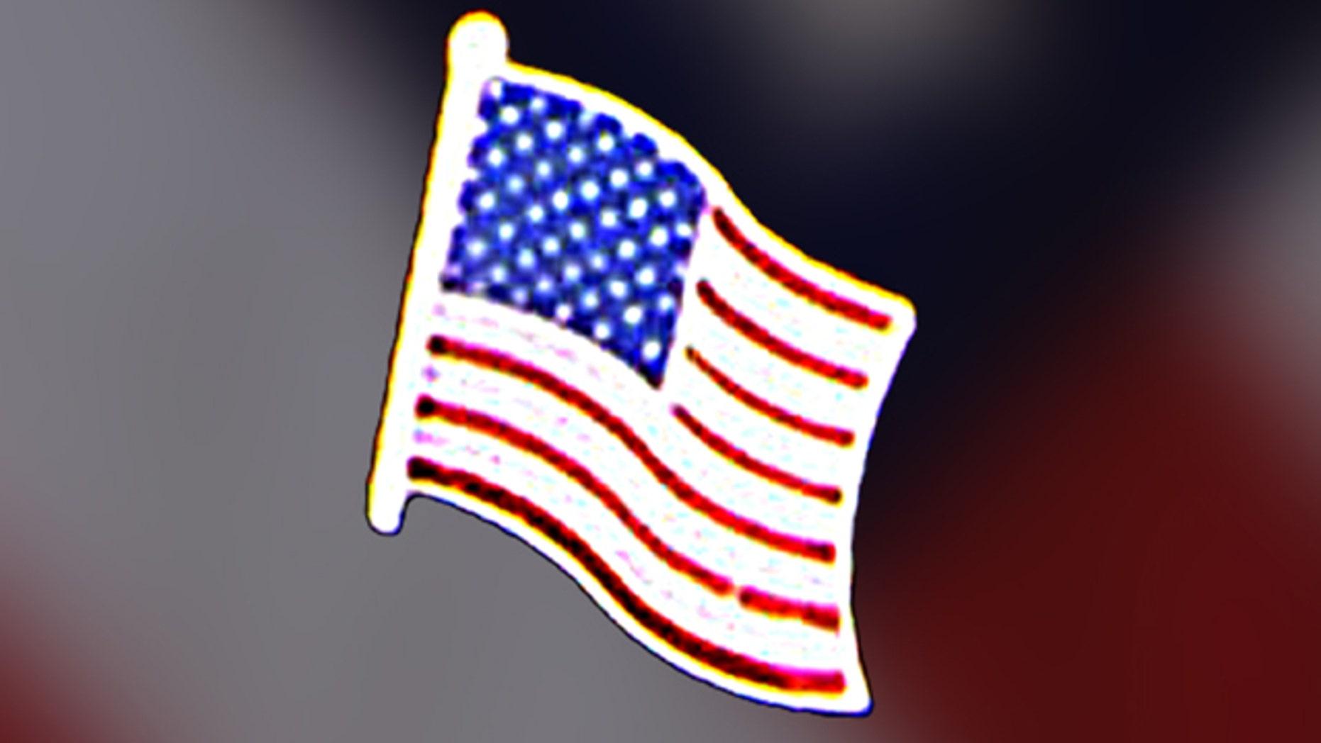 FILE: Lapel flag pin