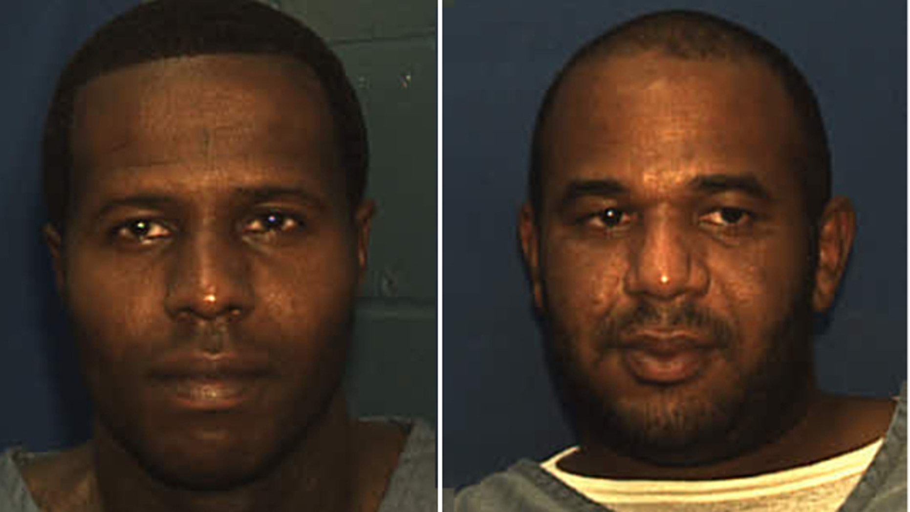 UNDATED: Charles Walker, left, and Joseph Jenkins, both 34, were mistakenly released from the Franklin Correctional Institution in Carrabelle, officials said.