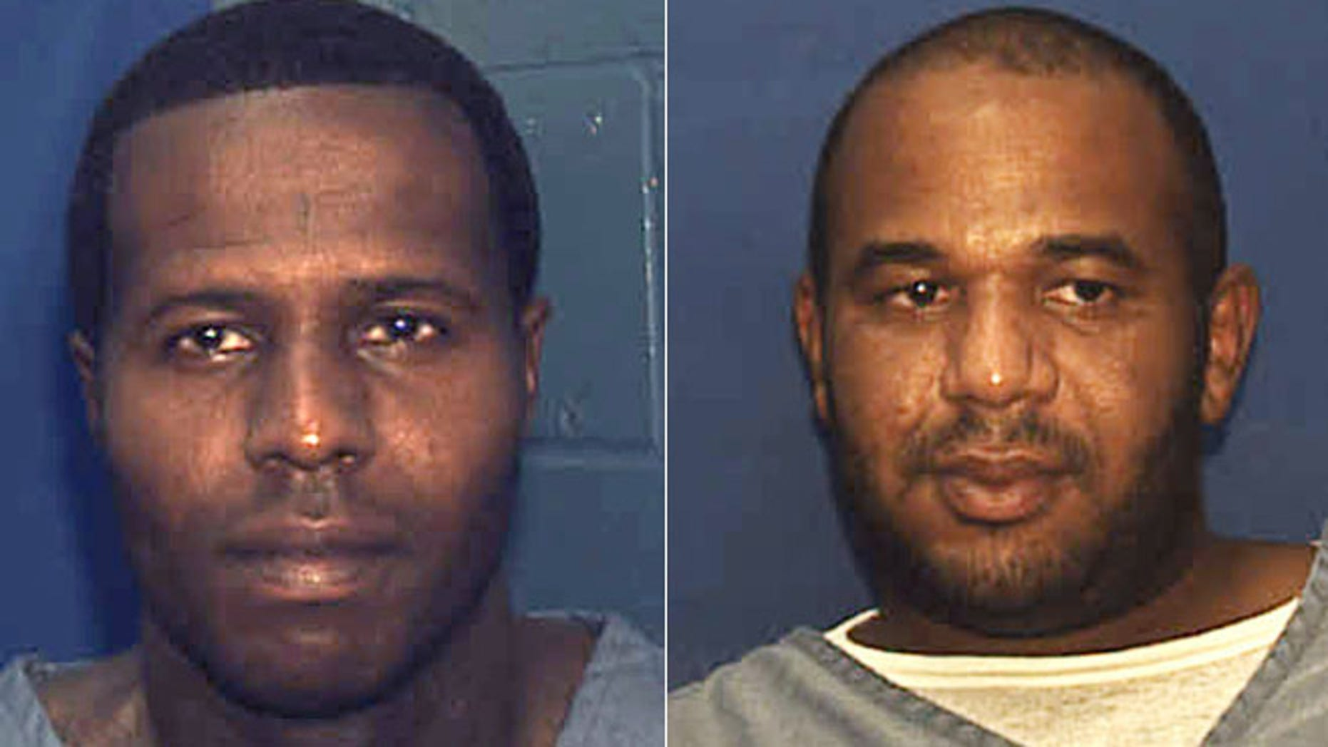 This split shows Charles Walker (left) and Joseph Jenkins (right).