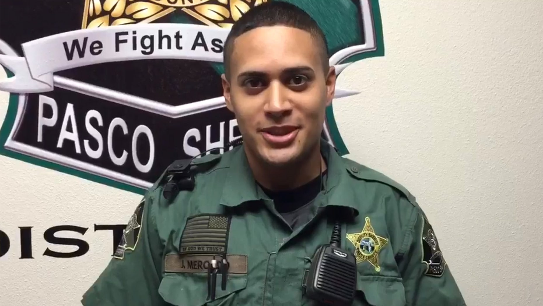 Pasco County Sheriff Deputy Joseph Mercado. was recently fired over an alleged lewd sexual act.