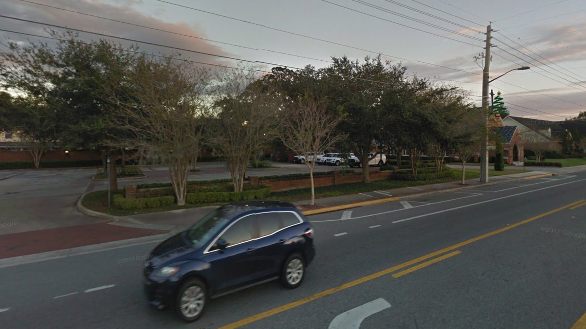 A teenage girl was found tied with her earbuds to a tree in Orlando on Friday, officials said.