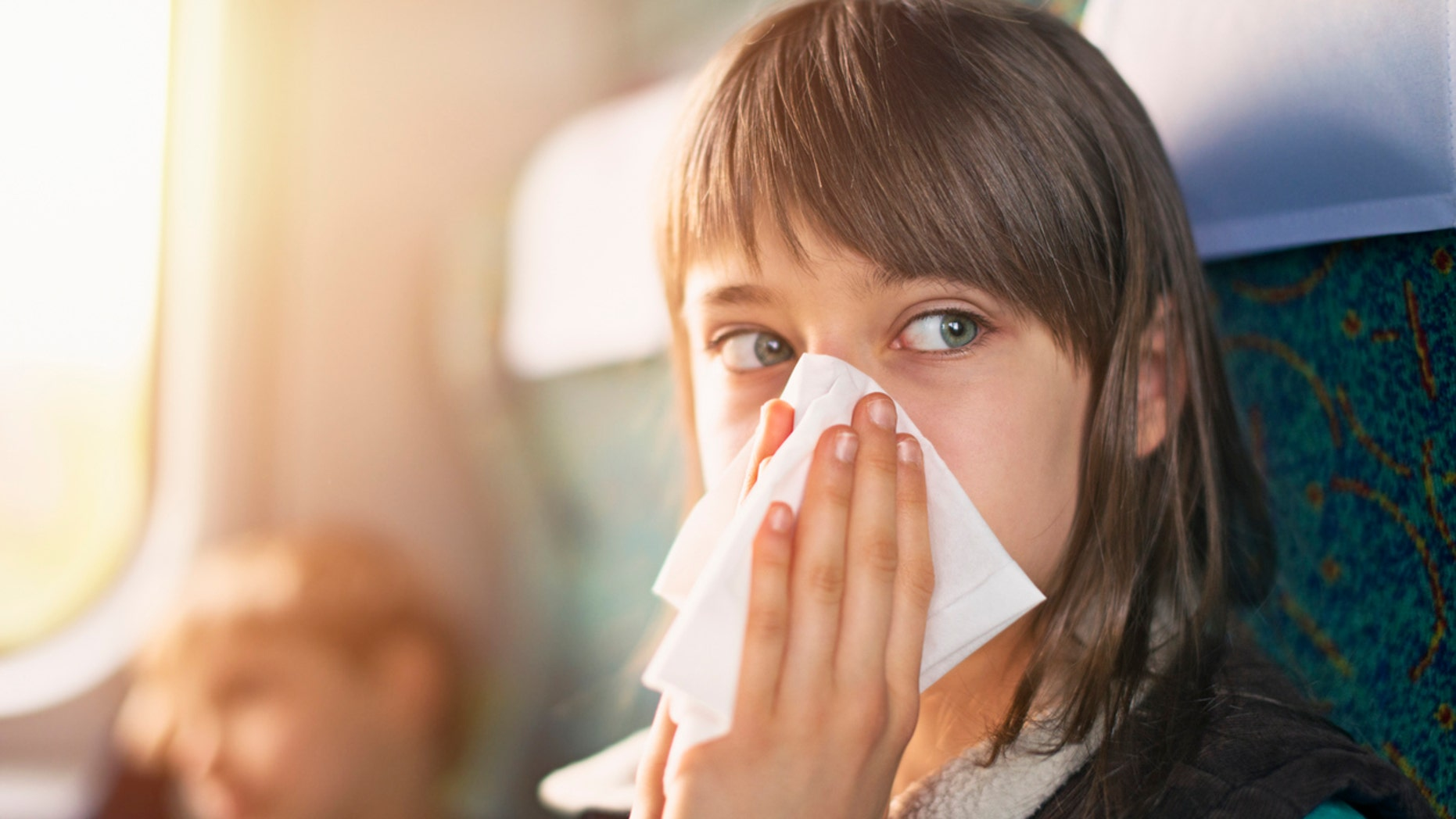 """For somebody who doesn't want to get sick, """"get in that window seat and don't move,"""" the study's lead researcher said."""
