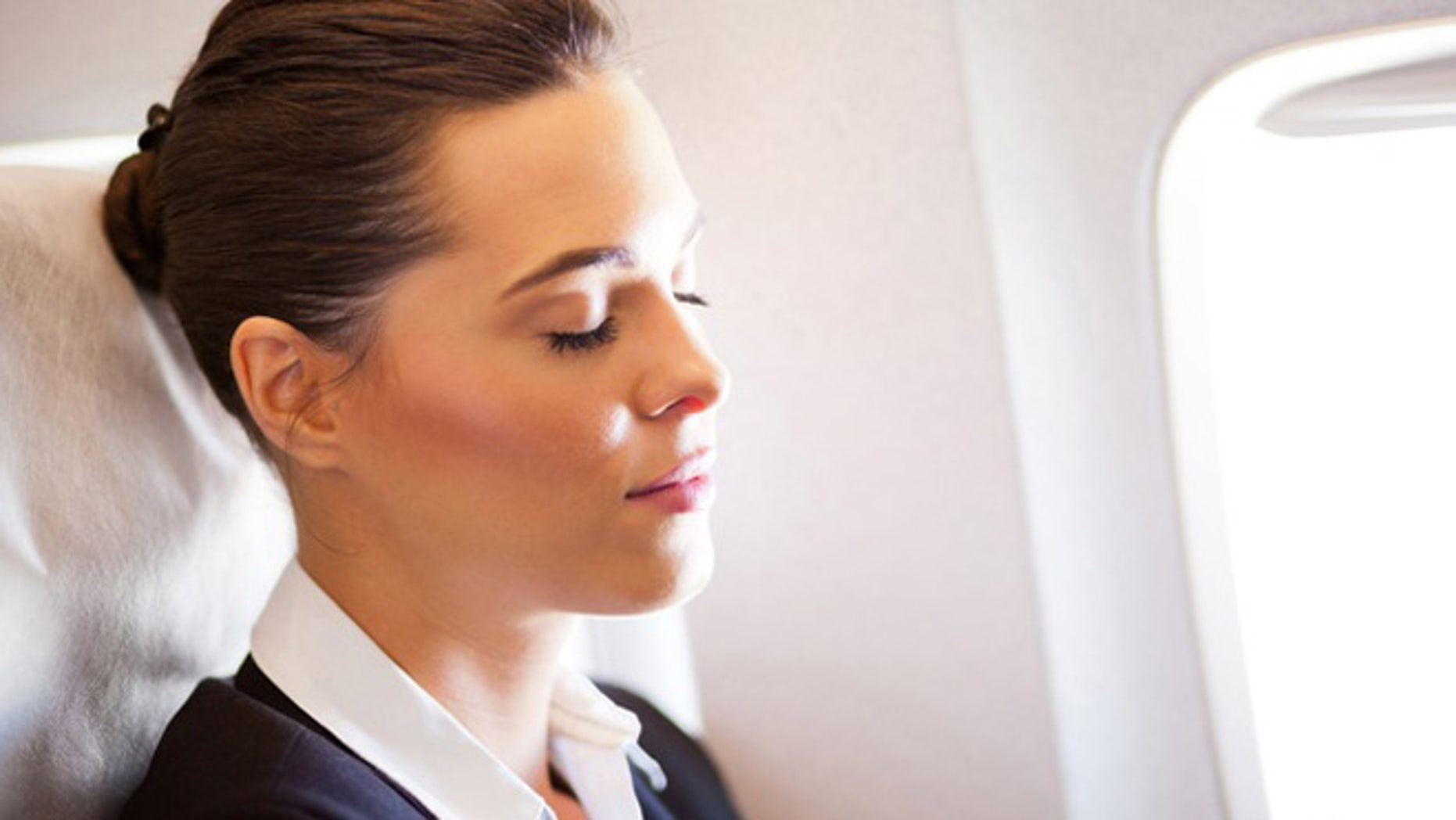 Relaxation techniques—such as visualizing your destination—can ease the fear of flying.