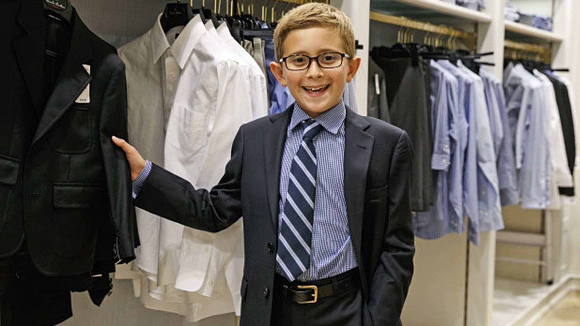 Flynn has sought help from a stylist for back to school.