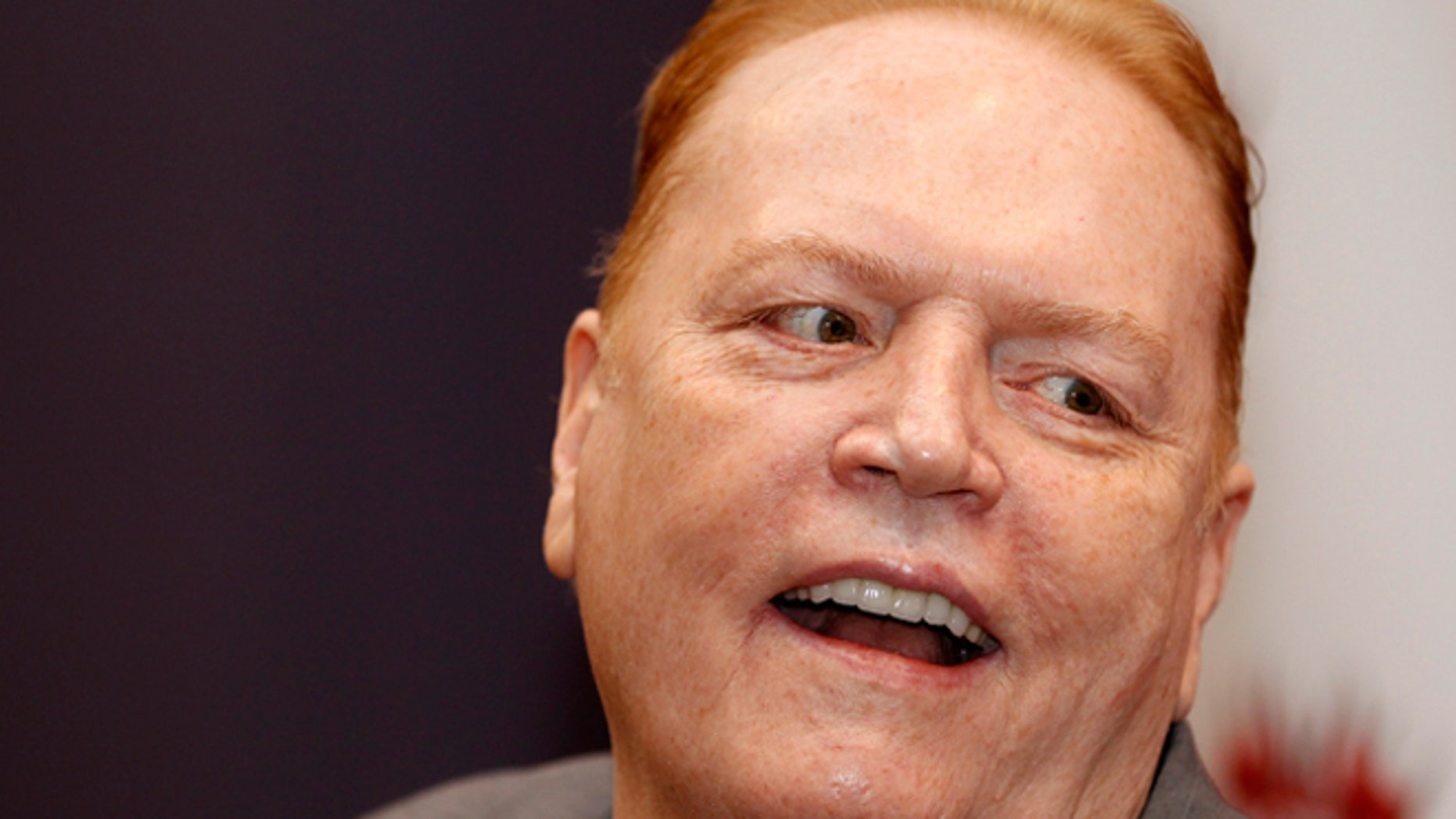 March 22, 2012: Publisher Larry Flynt, president of Larry Flynt Publications, is interviewed in West Hollywood, California.