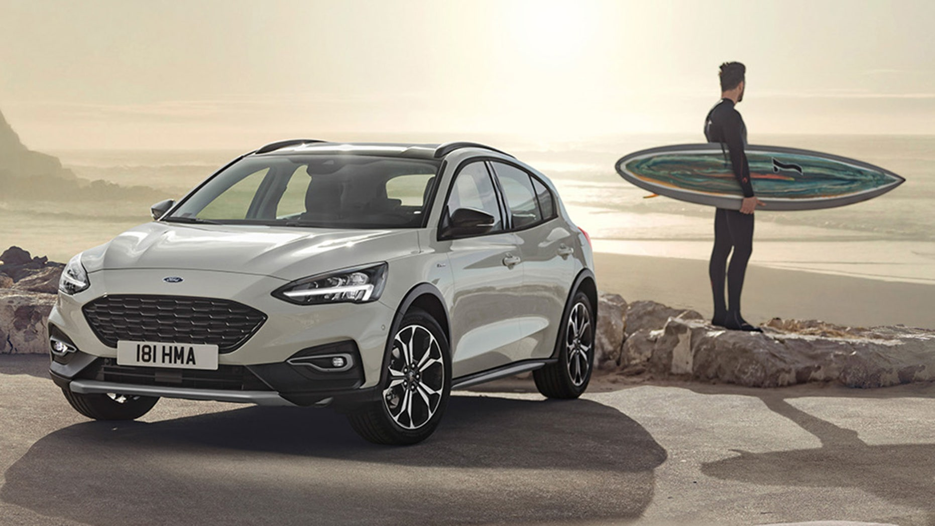 The Focus Active is a crossover-style compact.