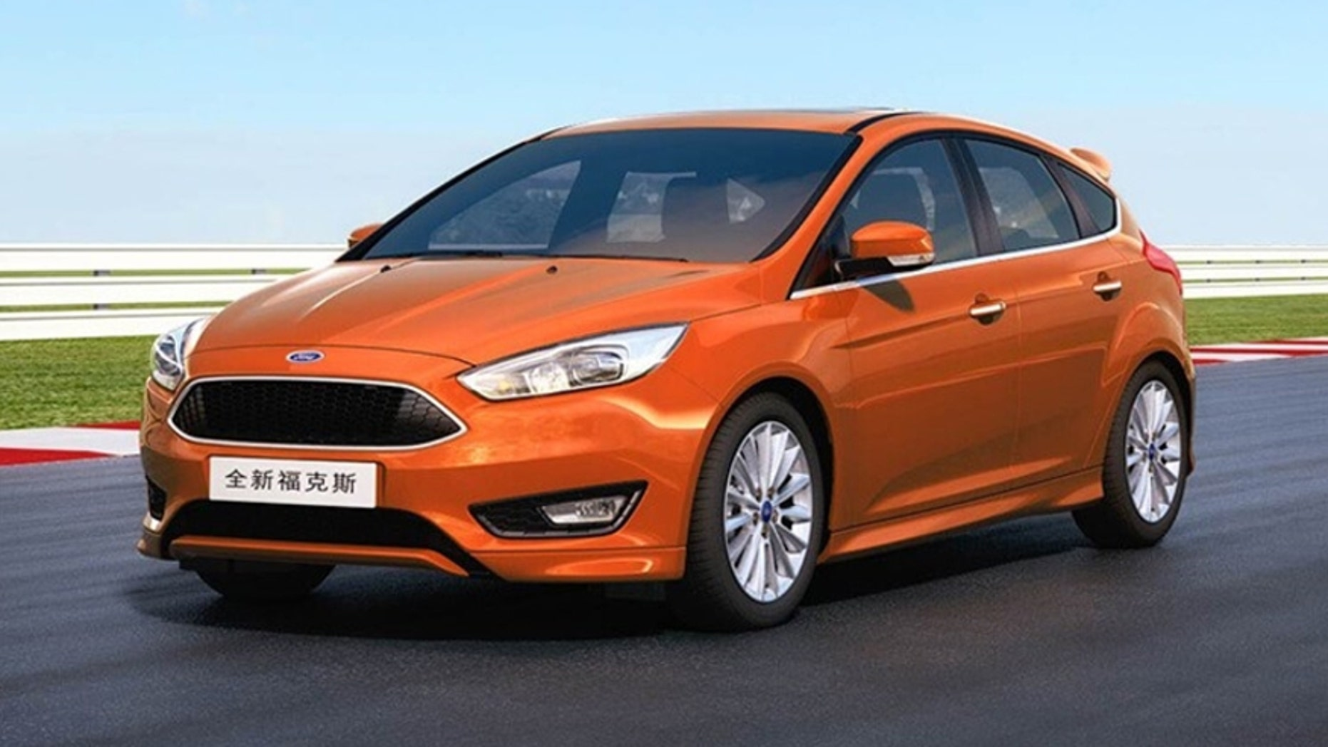 Chinese market Ford Focus