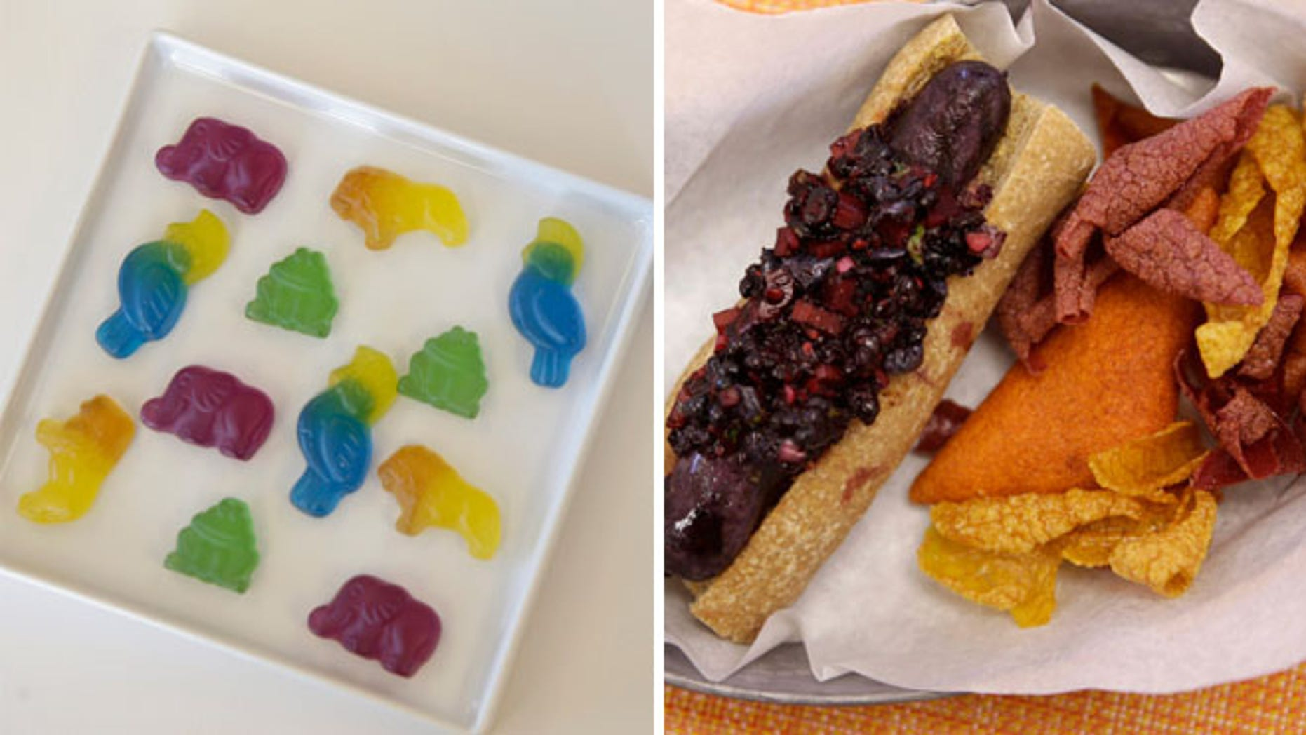 Food makers, in coming up for alternatives to synthetic dyes, are making food that doesn't look the same.
