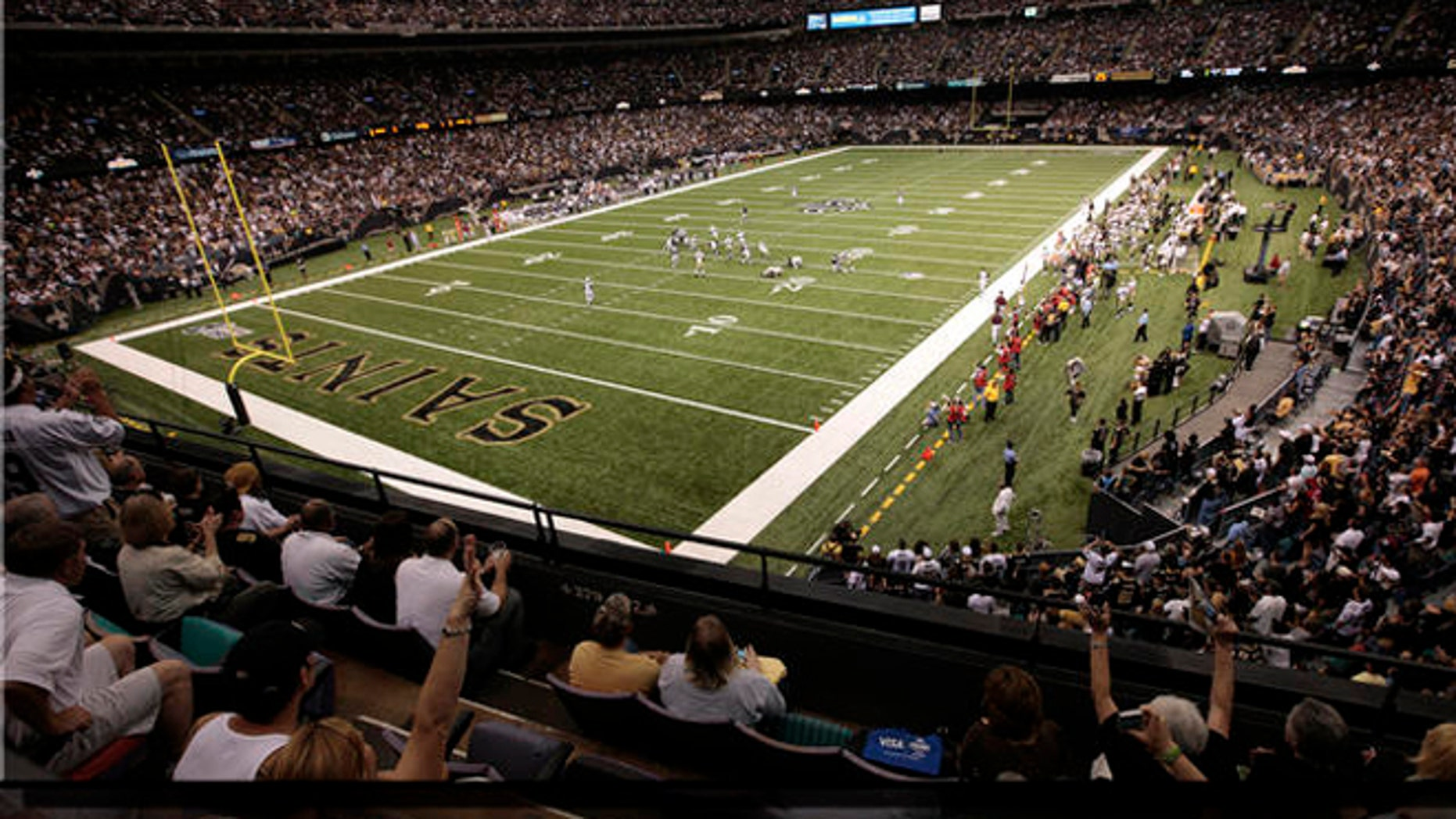 FILE: Aug. 21, 2010: The New Orleans Saints vs. Houston Texans during a preseason NFL game at the Louisiana Superdome in New Orleans, La.