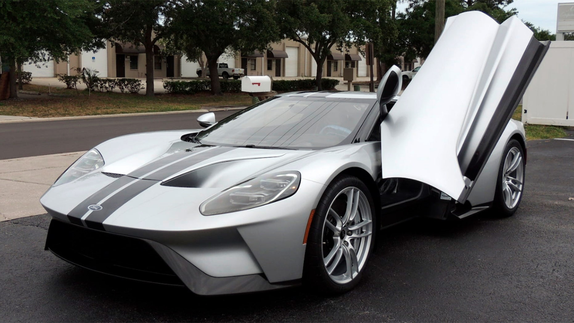 A  Ford Gt Was Auctioned For   Million But How