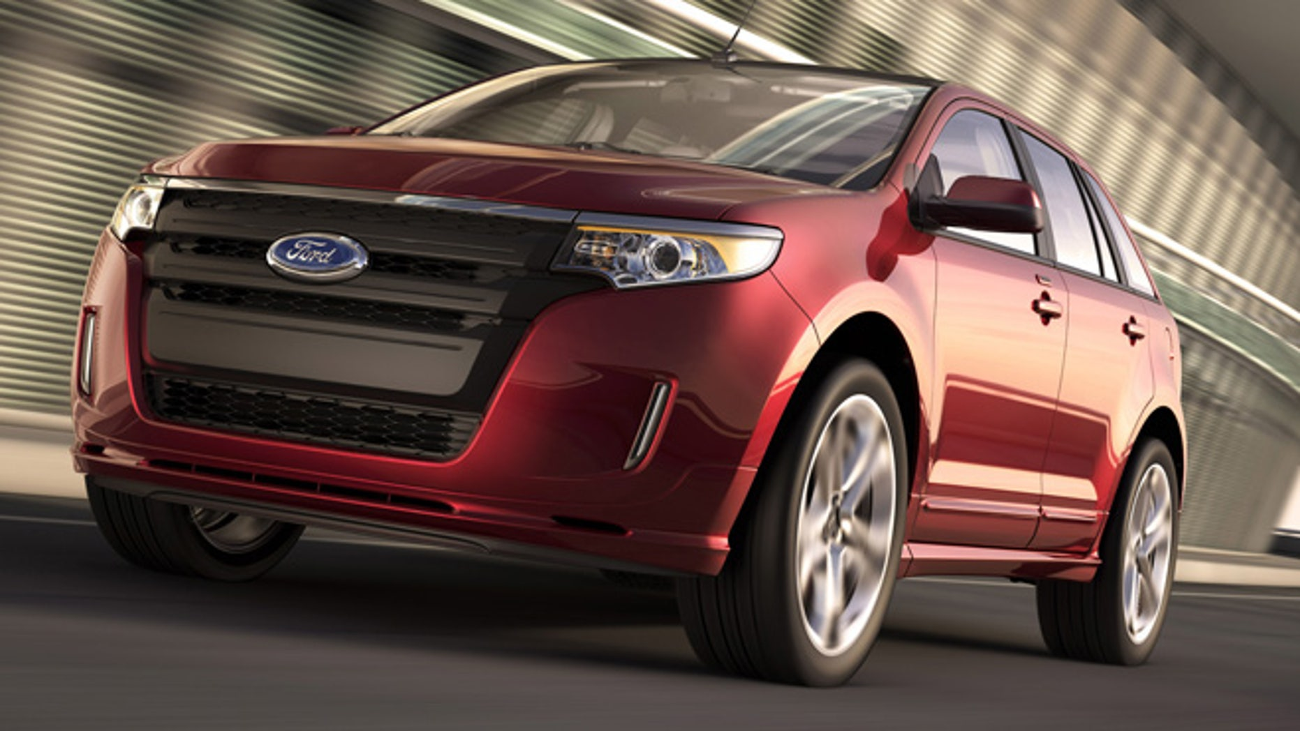 Ford Recalls Some  Ford Edge Suvs