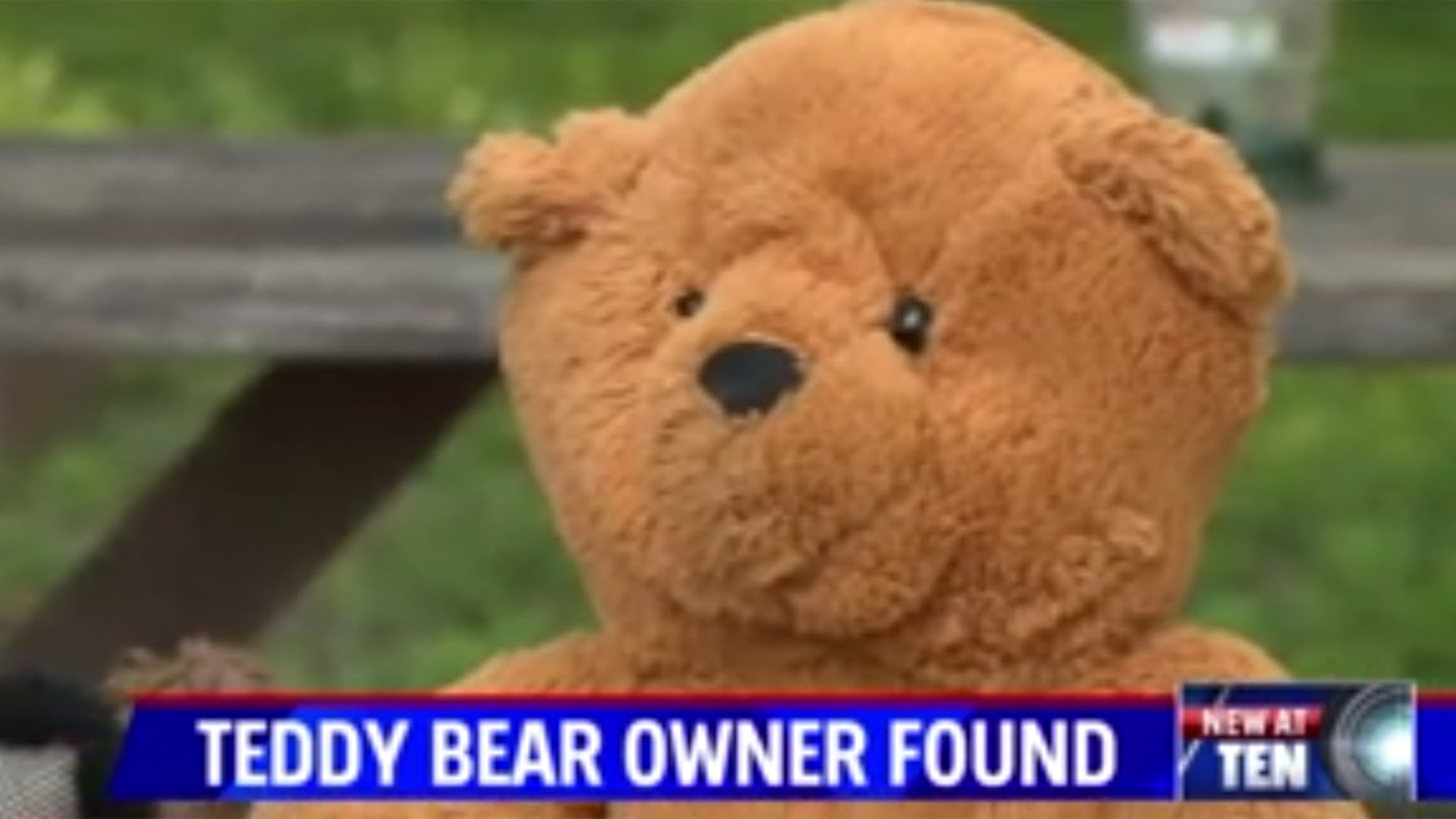 The mystery surrounding a lost teddy bear in Indiana has been solved.