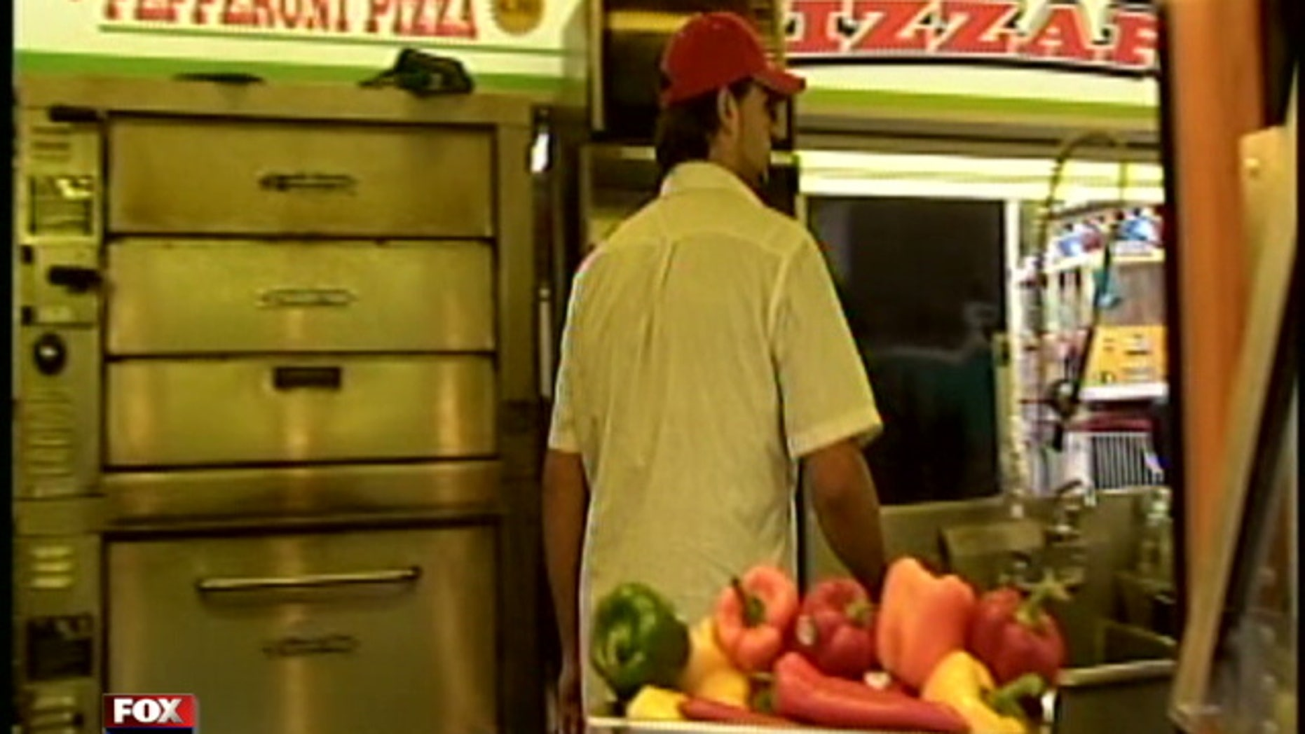 Yousef Hashem, who allegedly groped a teenage girl, works at a local family carnival making pizza in Salem, Mass.