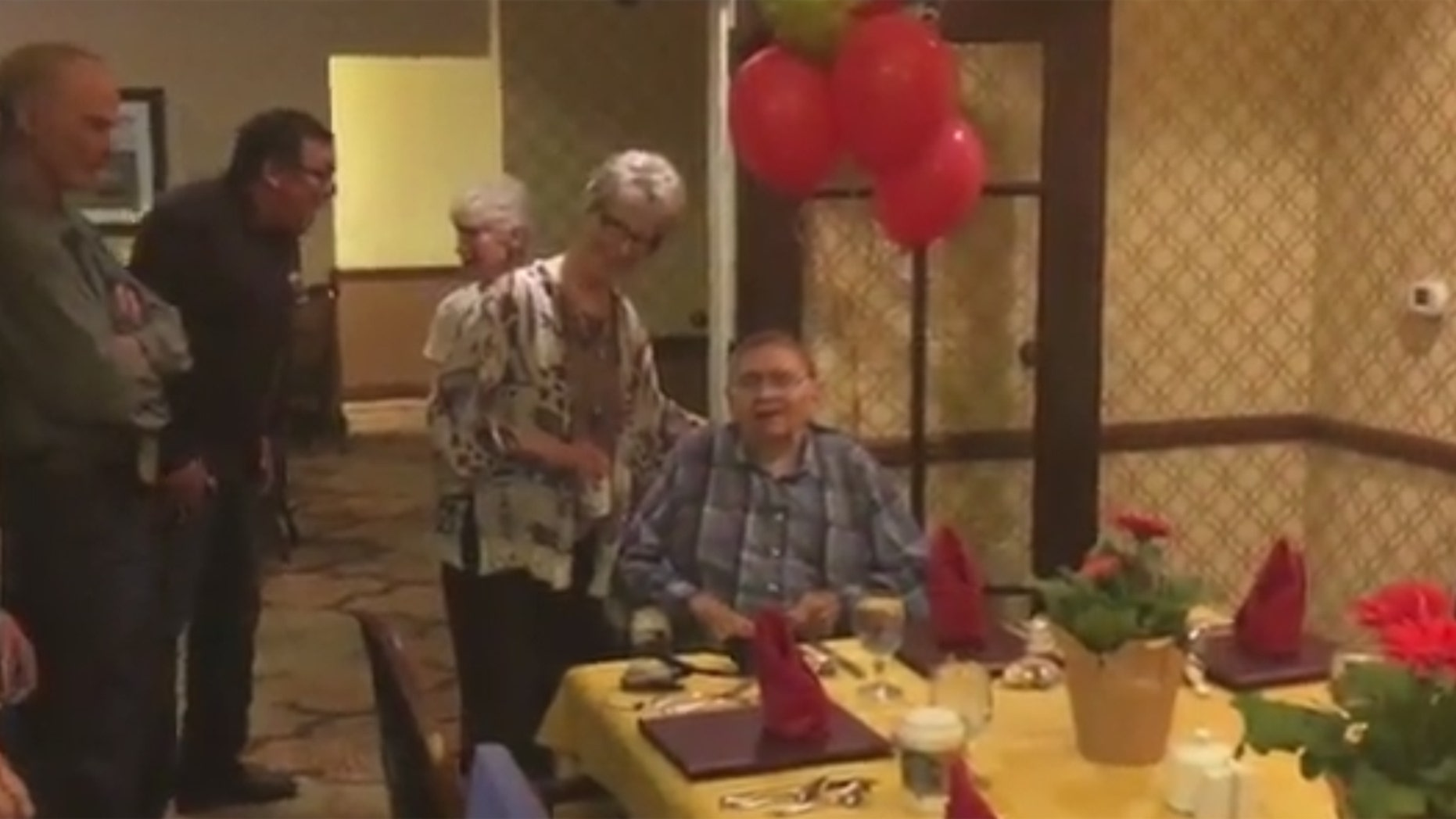 World War II Veteran, Nick Westendorf celebrated his 104th birthday with family and friends.