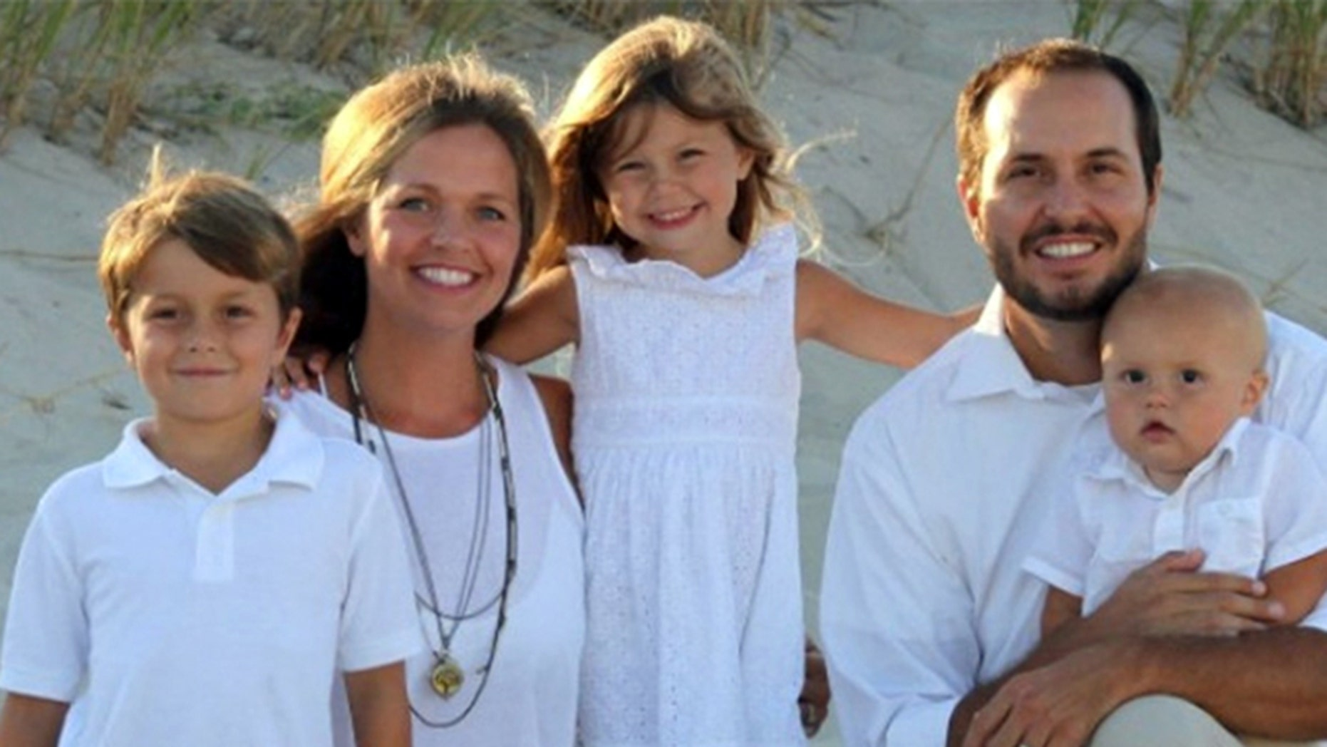 Katherine and Peter Martorana and their children.