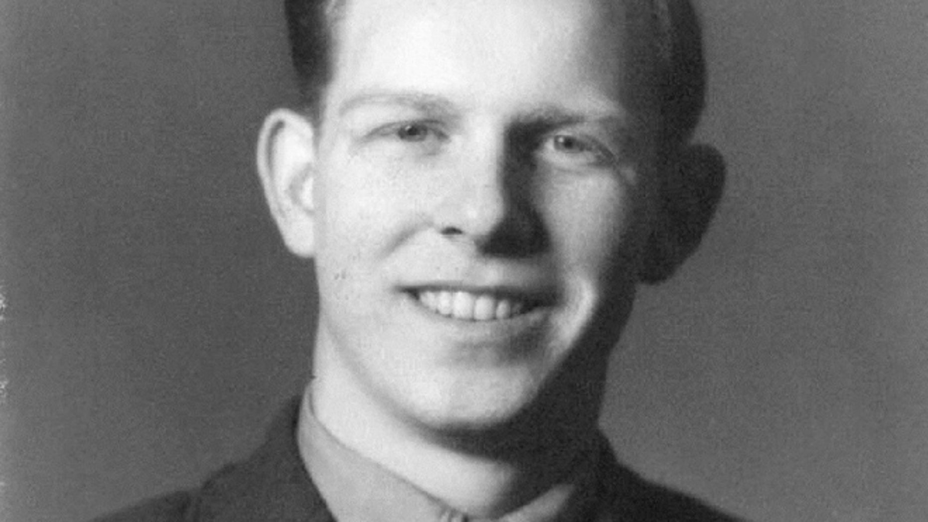 This undated photo shows Pfc James B. Johnson in his U.S. Marine Corps uniform. The Pentagon's Defense POW/MIA Accounting Agency announced that Johnson's remains, unaccounted for since World War II, have been identified and are being returned to his family for burial with full military honors. Pfc Johnson, 19, of Poughkeepsie, NY, died sometime on the first day of battle on the small island of Betio in the Tarawa Atoll in an attempt to secure the island from the Japanese, Nov. 20, 1943.