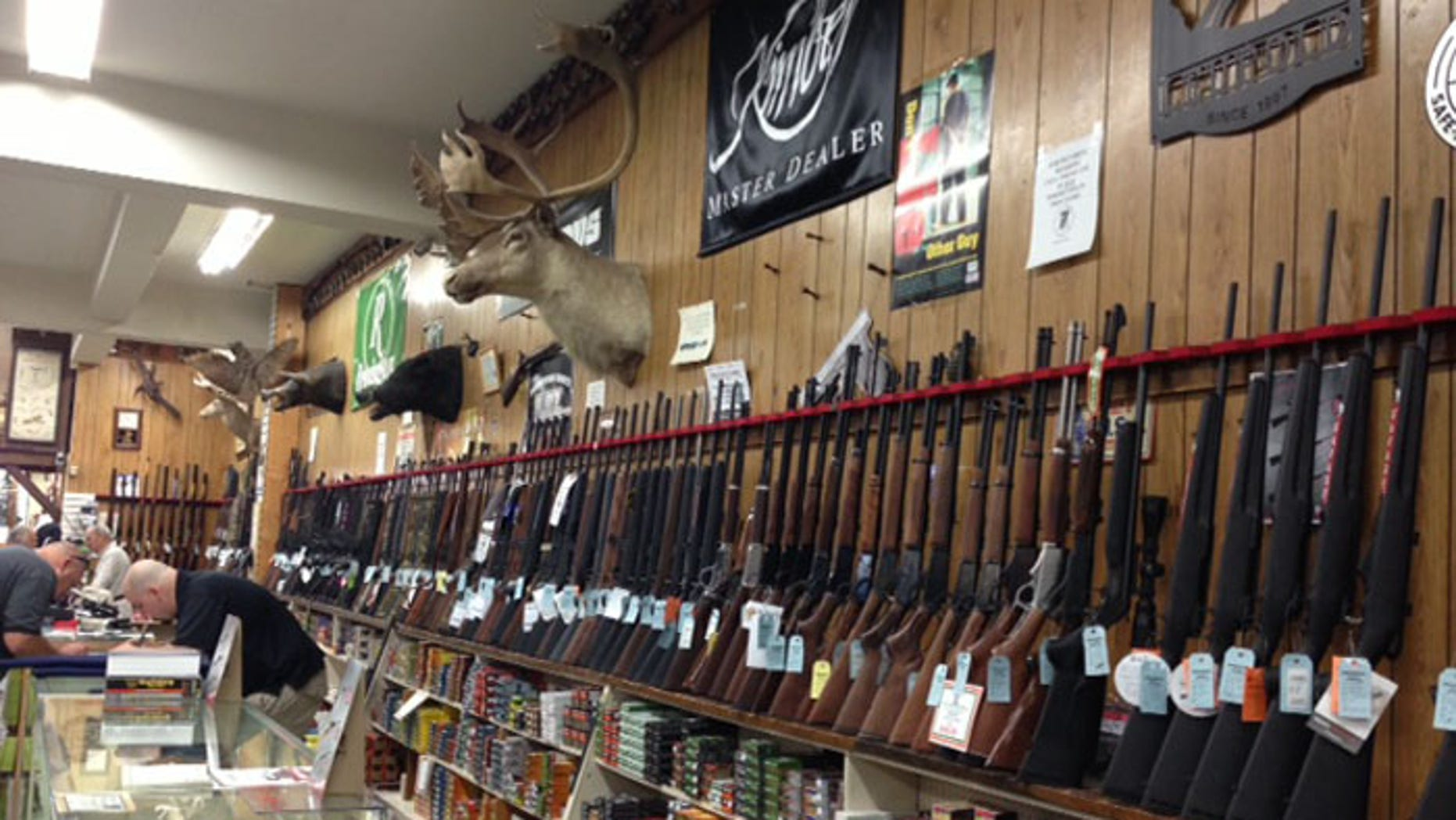 Dunkelberger's Sporting Outfitter on Main Street in Stroudsburg, where Eric Frein made purchases -- the most recent in 2012, said owner Jere Dunkelberger.