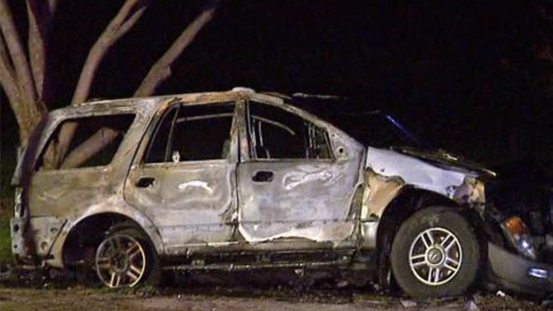 Feb. 16, 2014: Five people, including four children, were killed in a fiery car accident in Fresno, Calif.