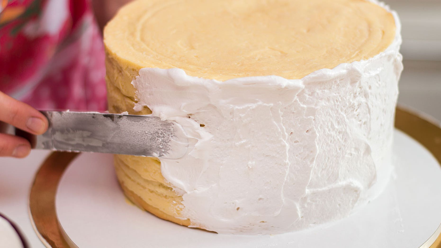 Epicurious shares its tips for frosting a cake like a pro.
