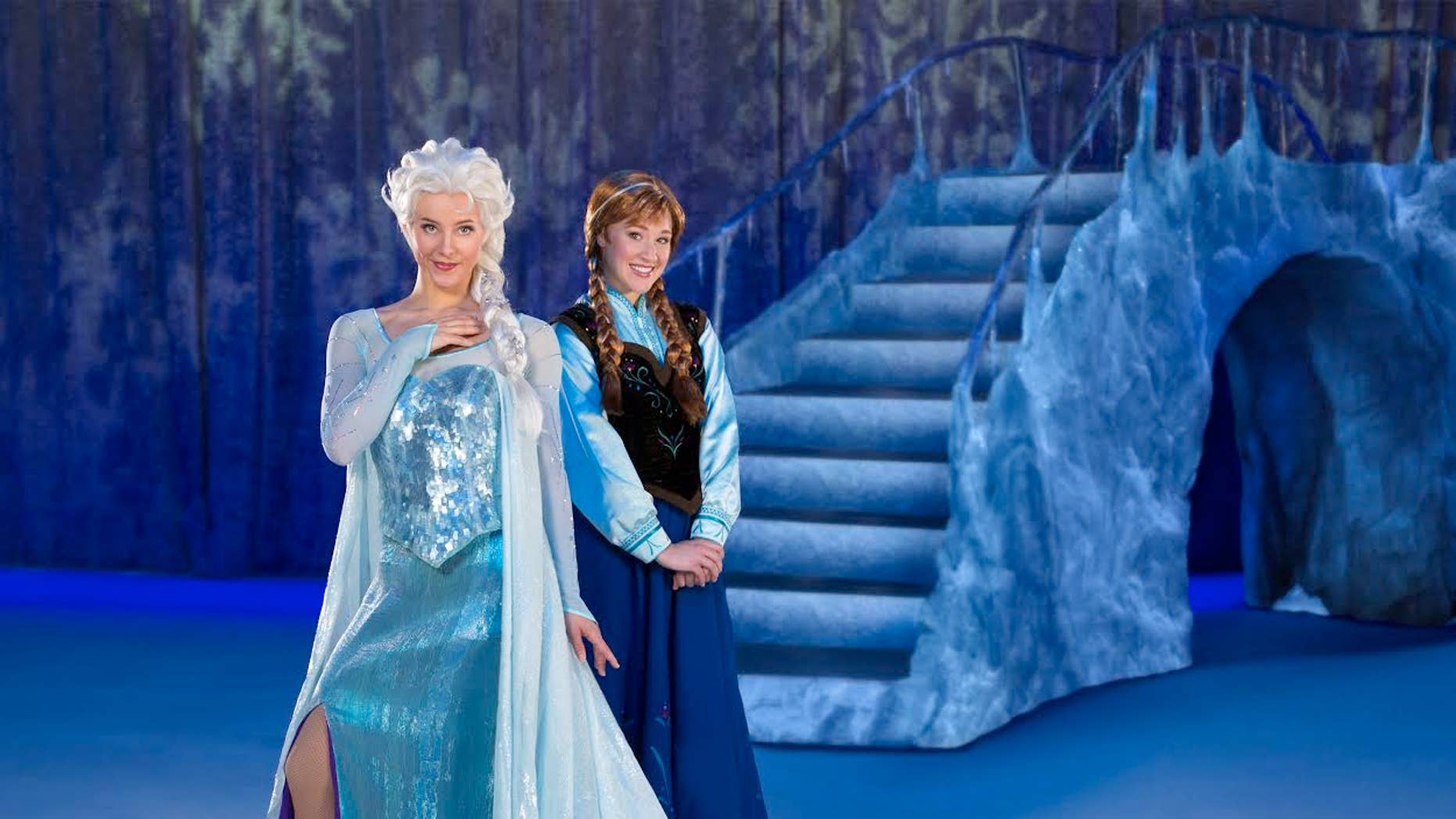 Elsa and Anna from 'Disney on Ice presents Frozen.'