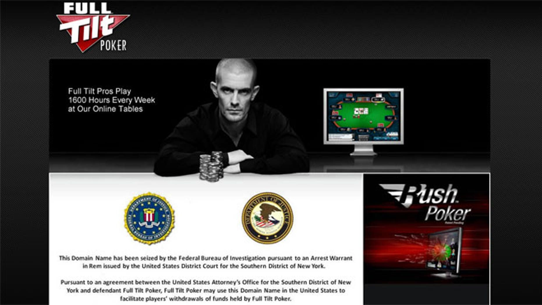 Full Tilt Poker Ponzi