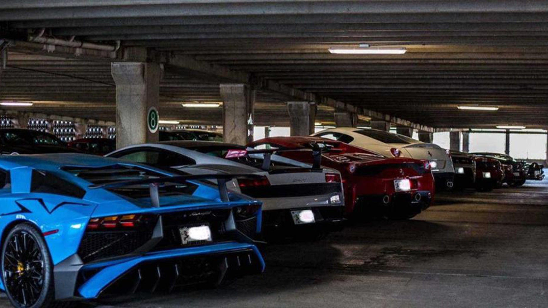 Dozens Of Sports Cars Worth Millions Found In Public Garage But