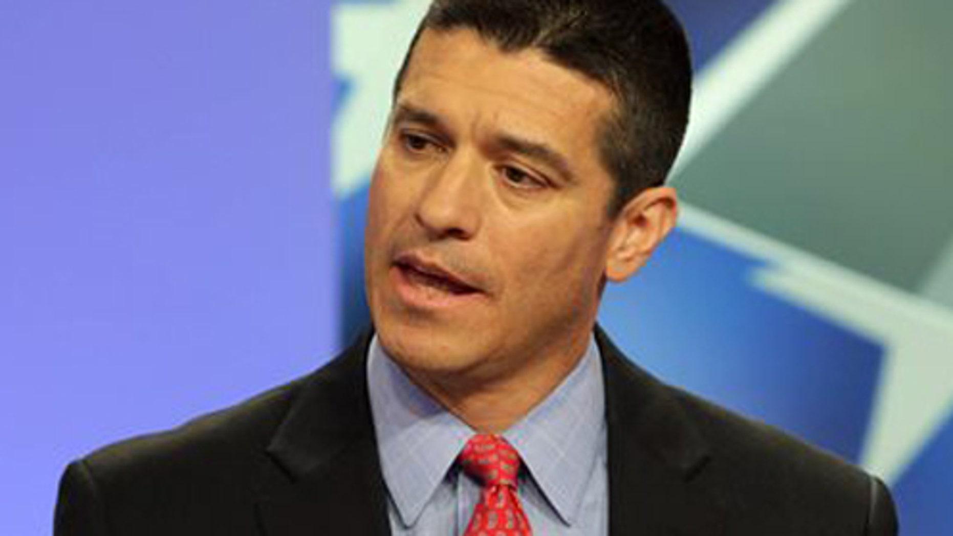 Republican candidate for U.S. Senate Gabriel Gomez.
